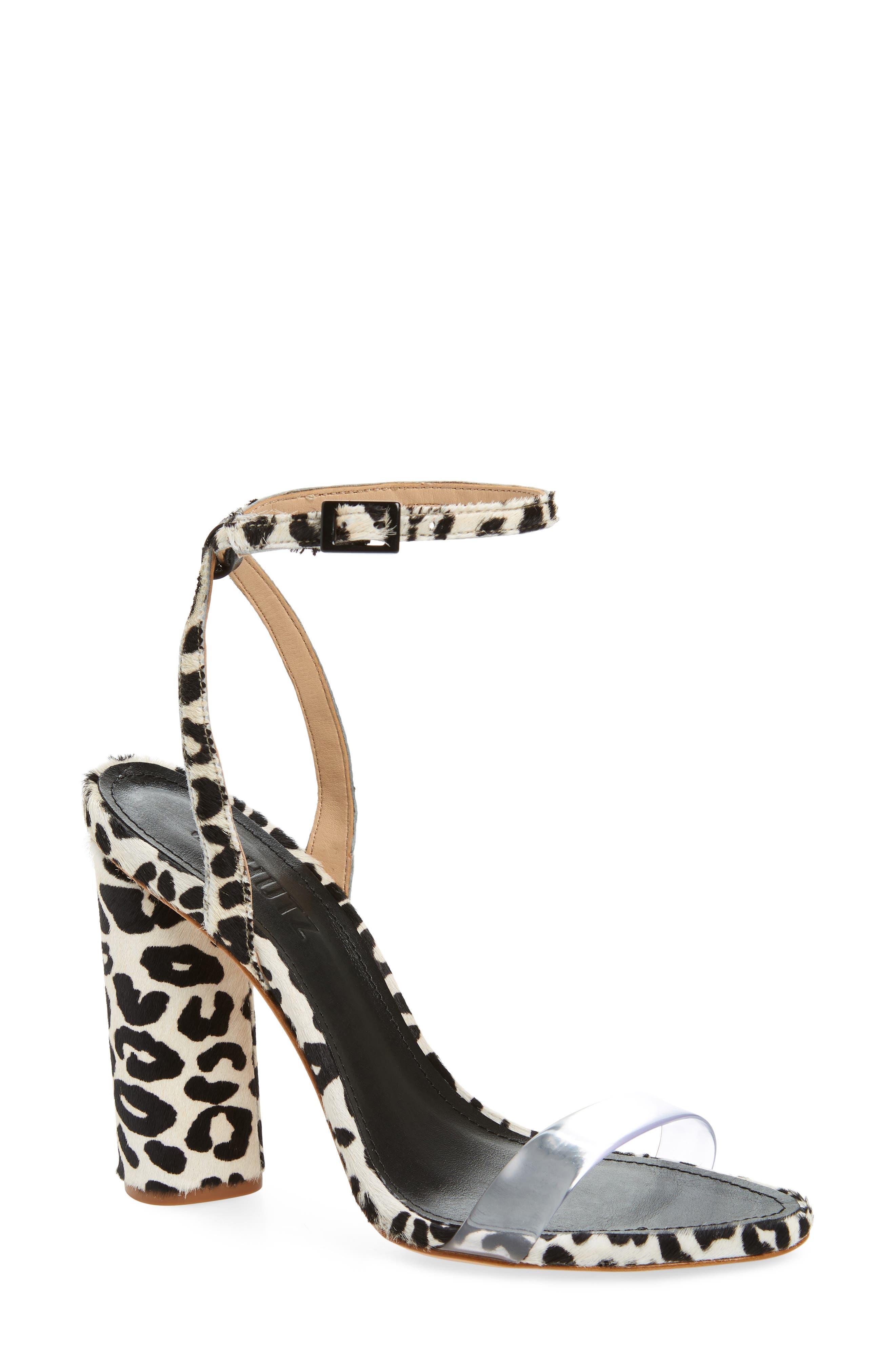 Elenita Genuine Calf Hair Sandal,                             Main thumbnail 1, color,                             PEARL CALF HAIR