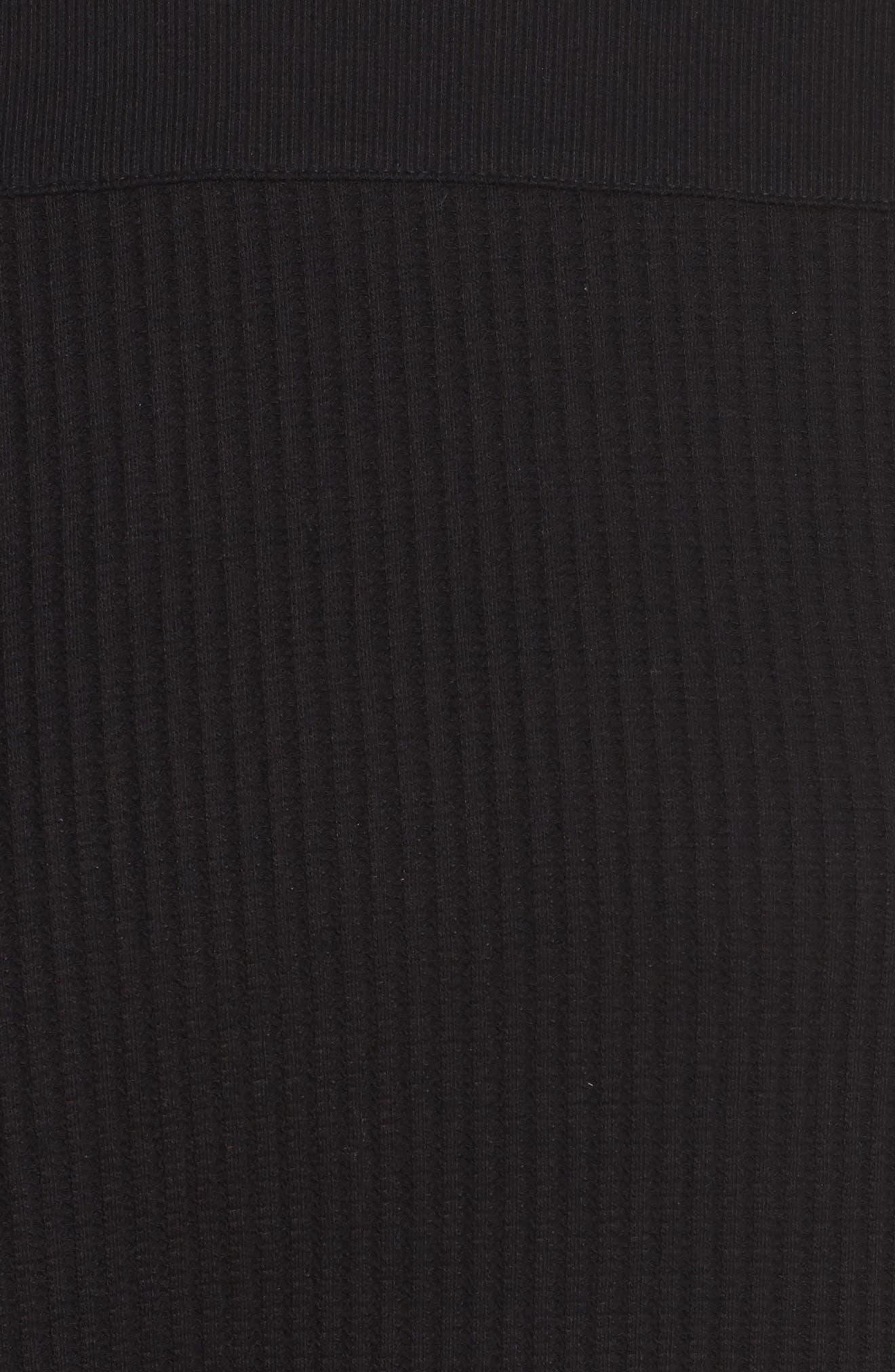 Long Sleeve Sleep Shirt,                             Alternate thumbnail 5, color,                             001