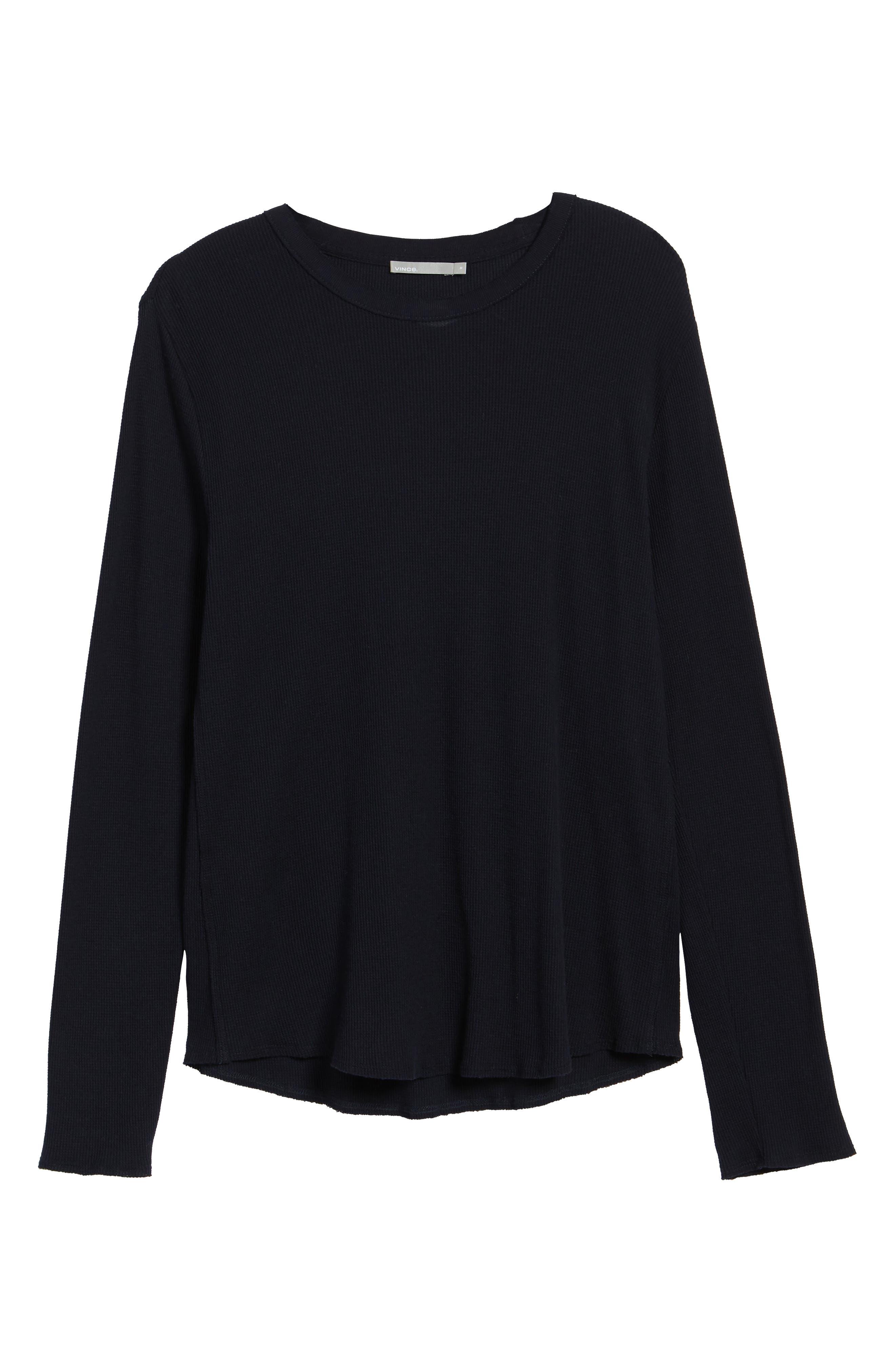 Thermal Knit Long Sleeve T-Shirt,                             Alternate thumbnail 18, color,