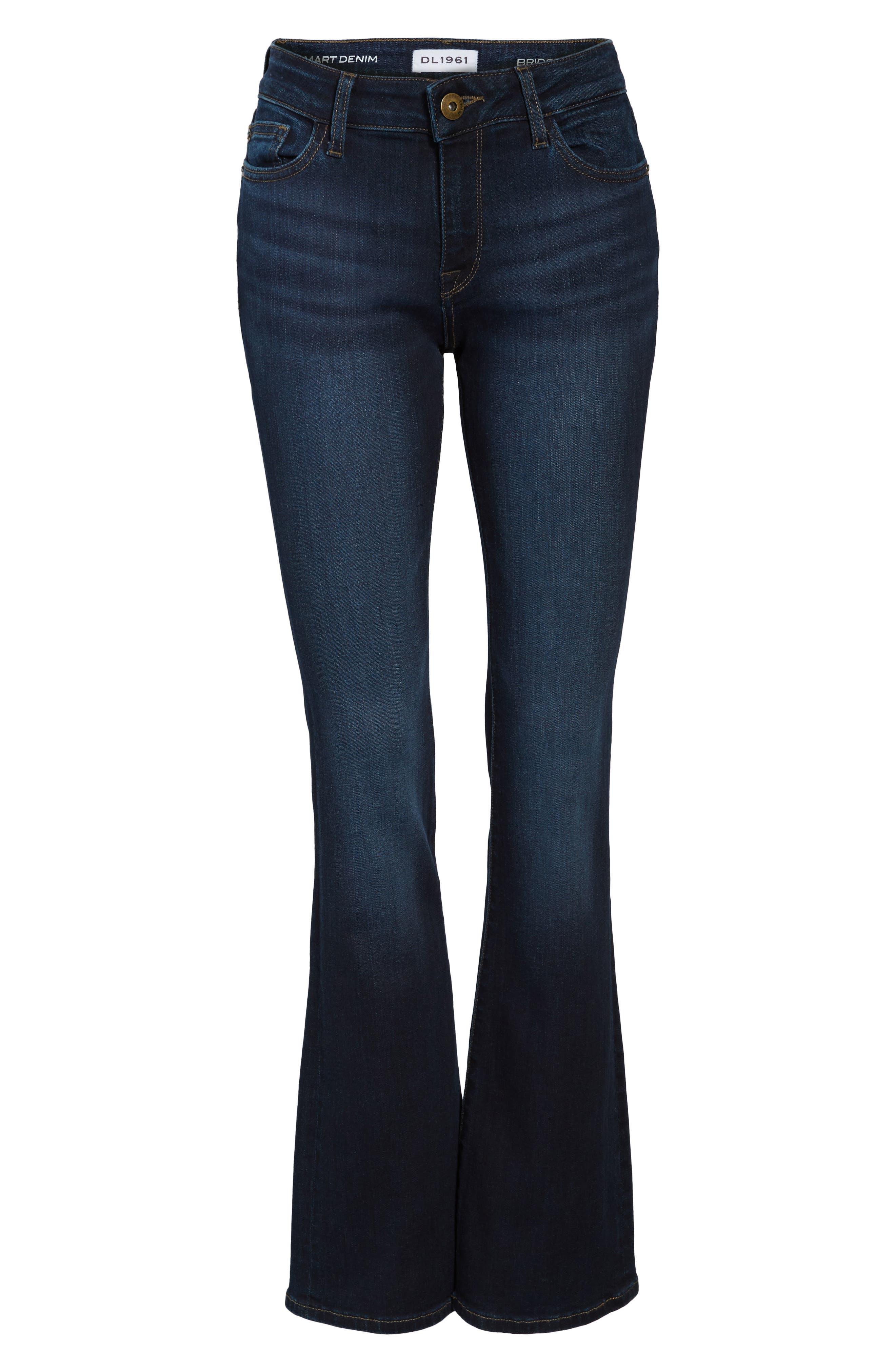 Bridget Bootcut Jeans,                             Alternate thumbnail 6, color,                             405