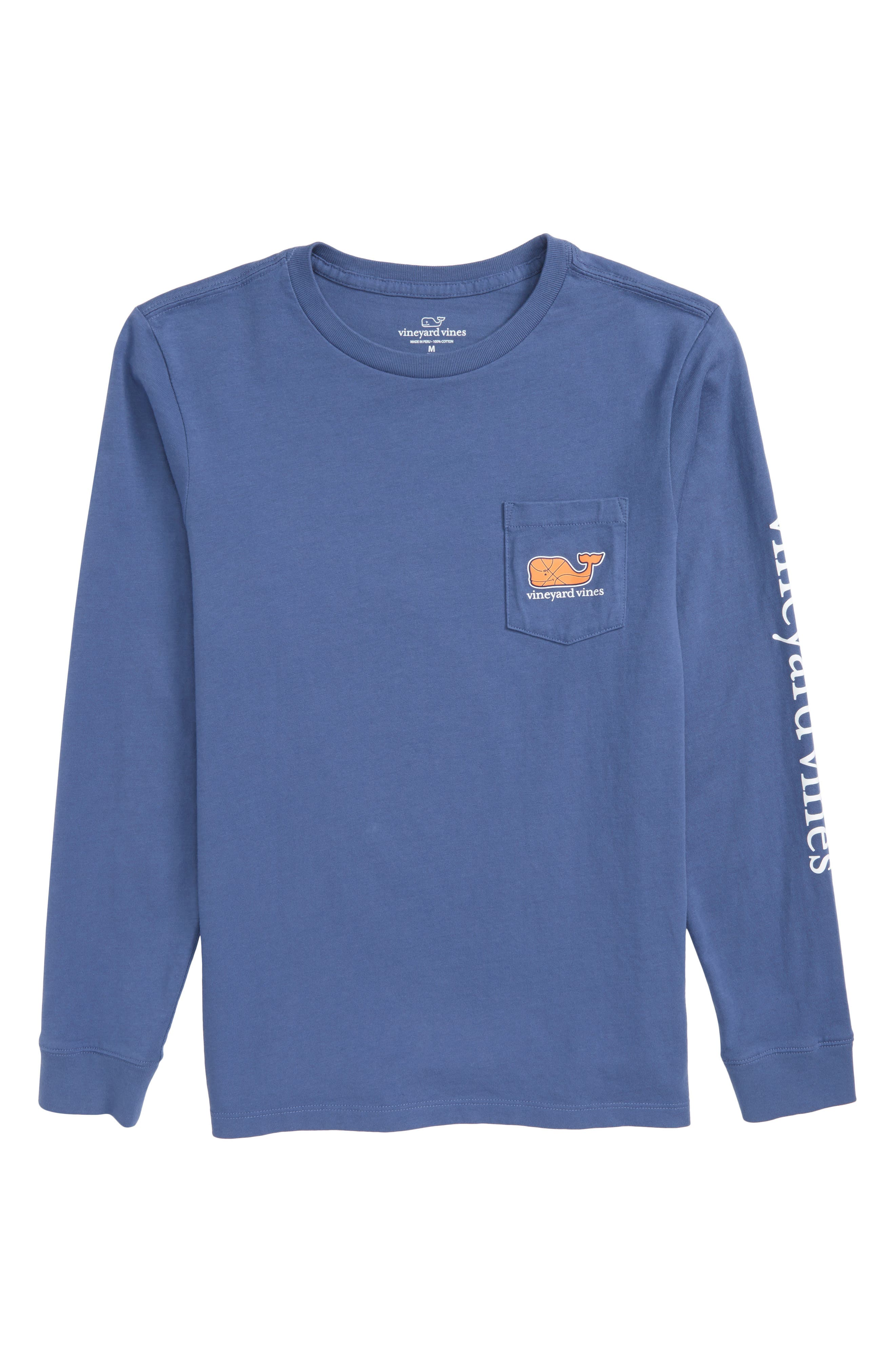 Basketball Whale T-Shirt, Main, color, 461