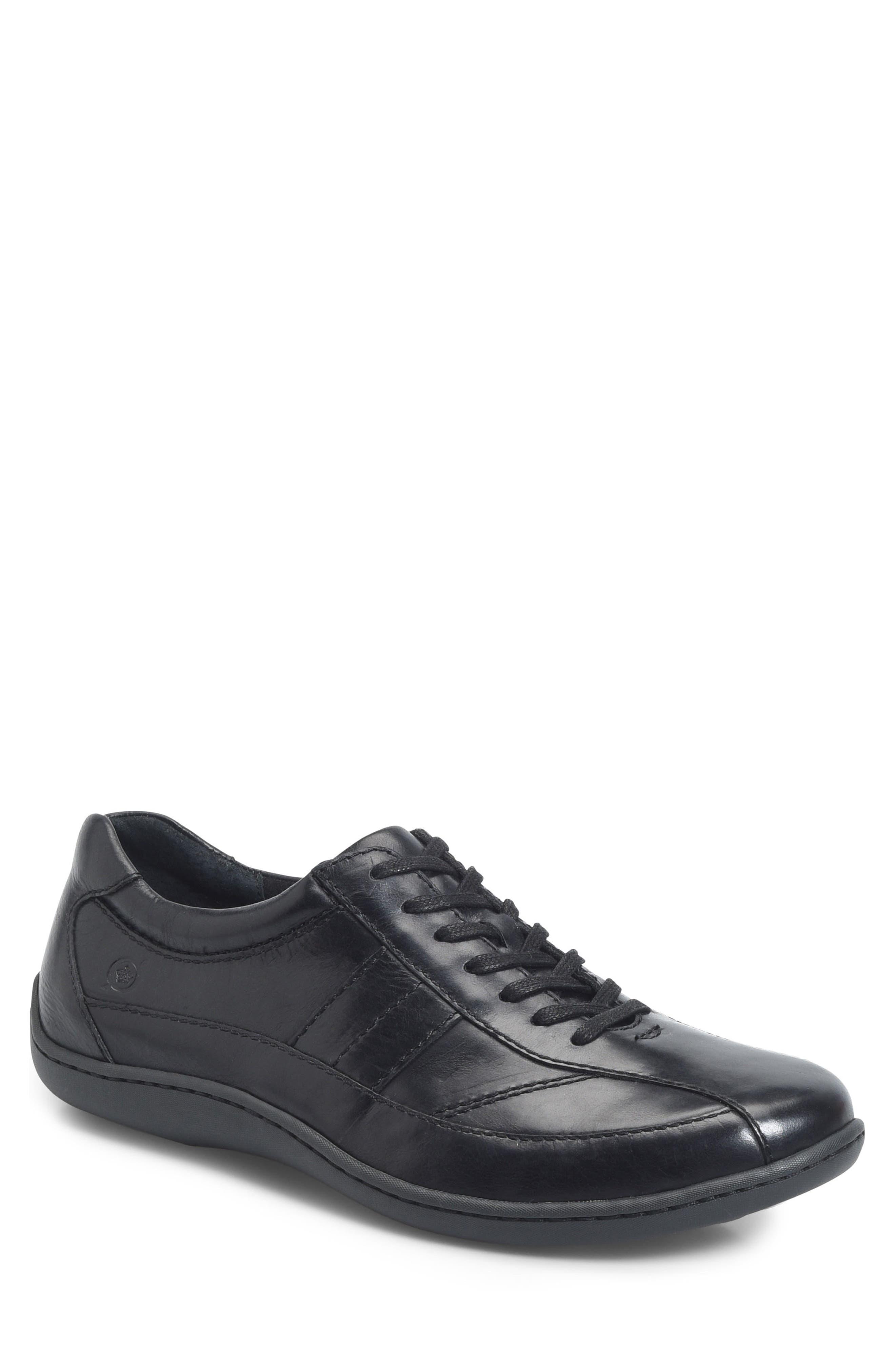 Breves Low Top Sneaker,                         Main,                         color, BLACK