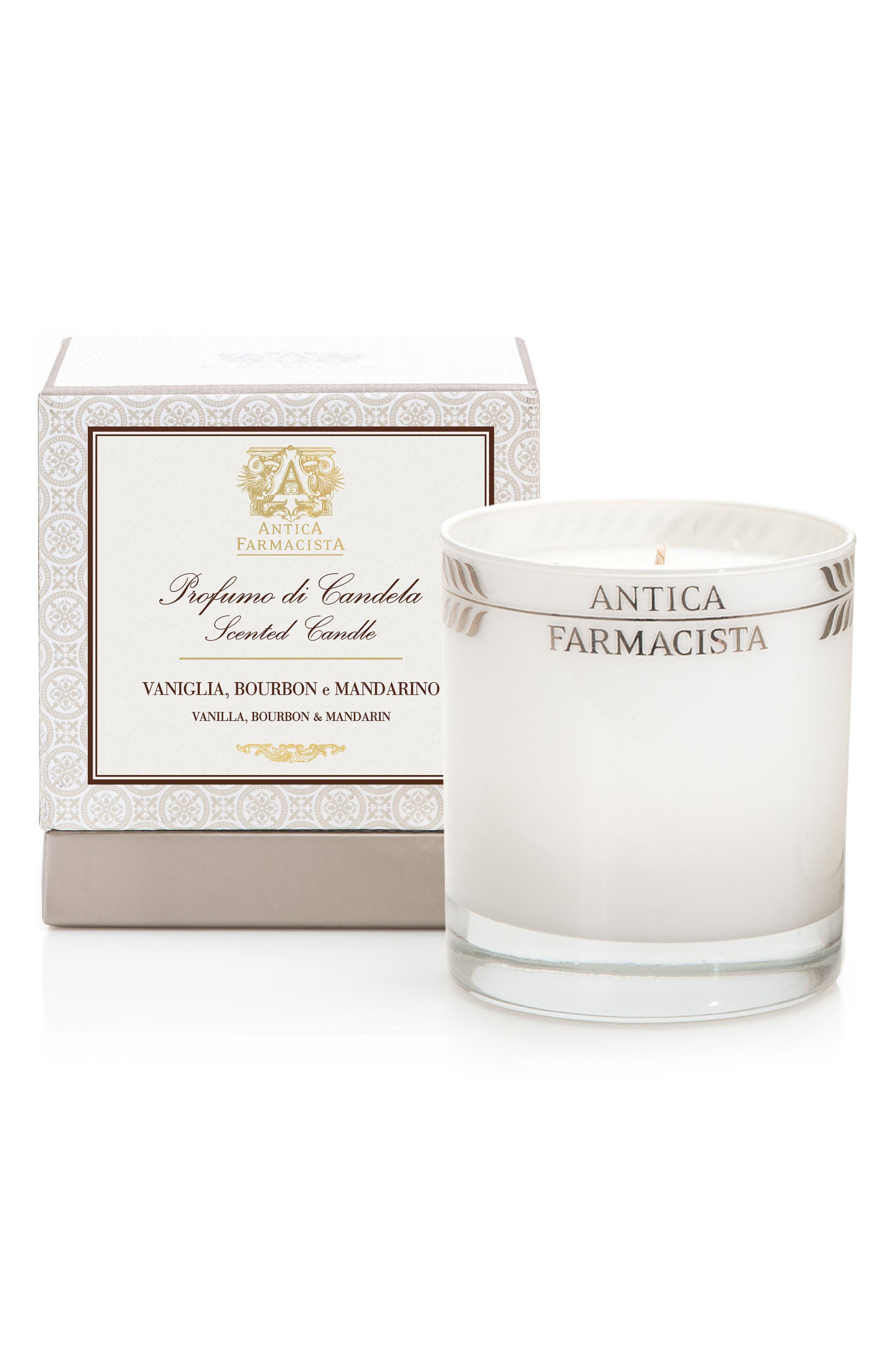 Vanilla, Bourbon & Mandarin Candle,                             Alternate thumbnail 2, color,                             NO COLOR