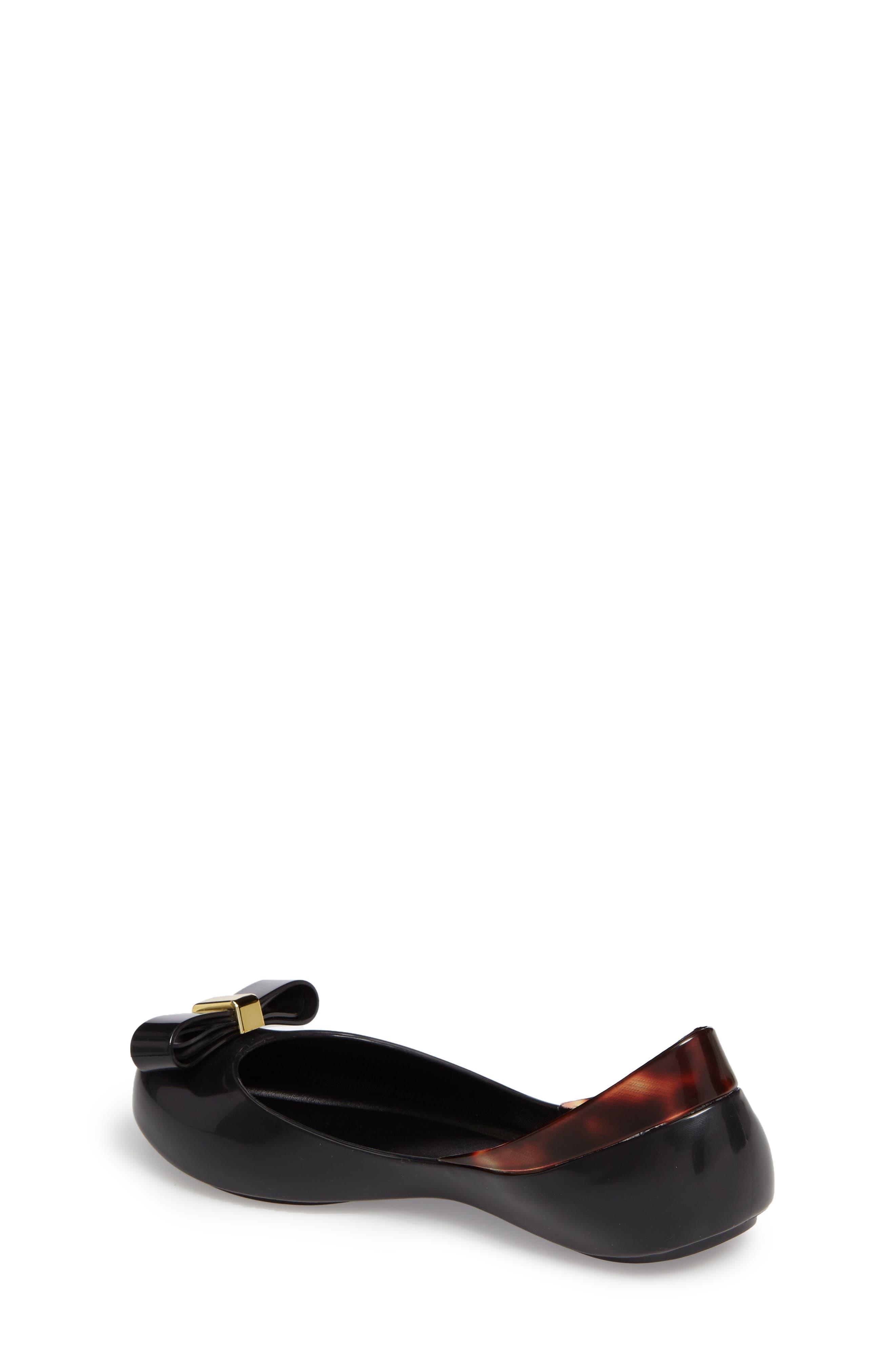 Queen III Peep Toe Flat,                             Alternate thumbnail 2, color,                             001