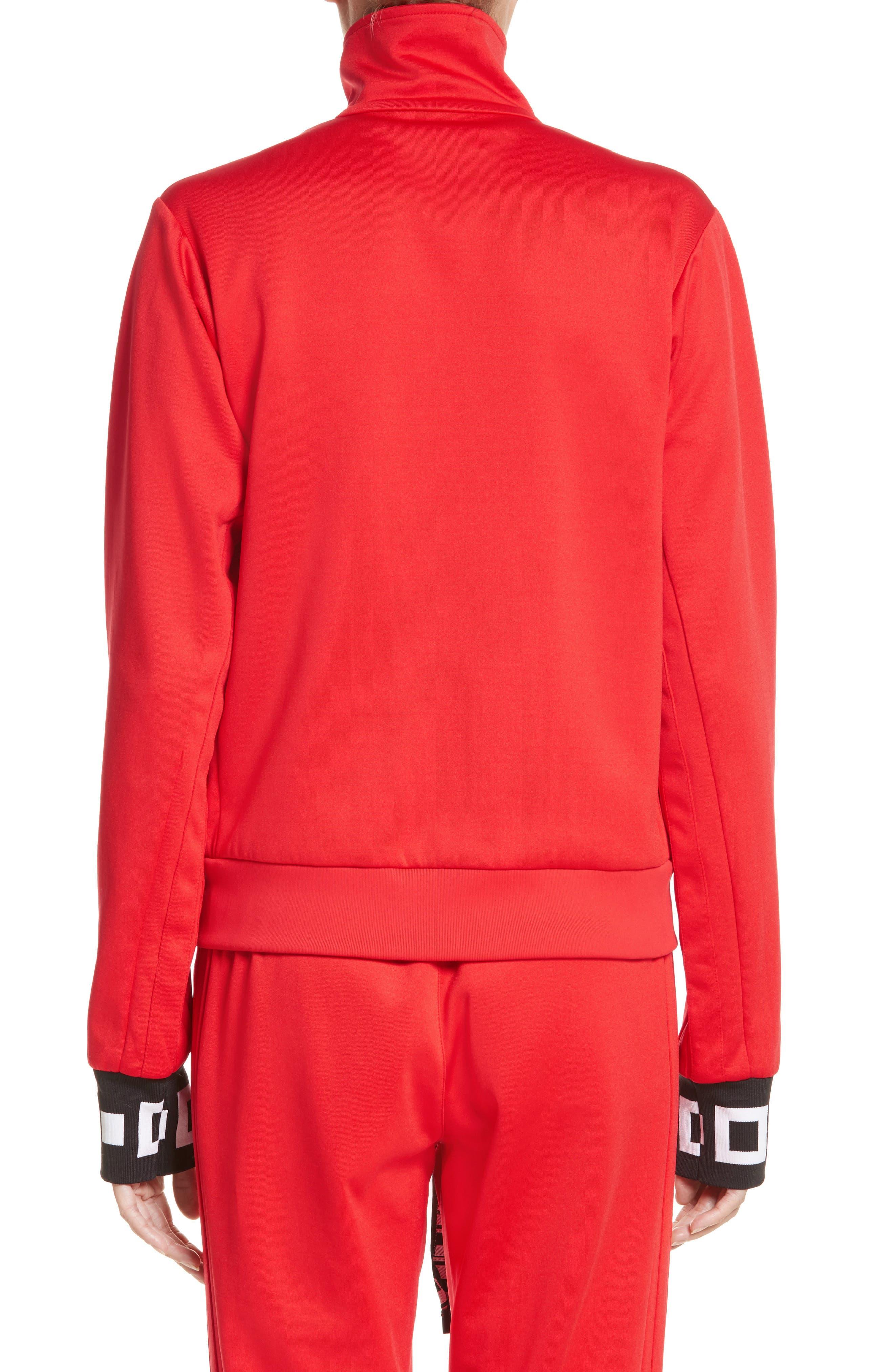 PSWL Jersey Track Jacket,                             Alternate thumbnail 4, color,