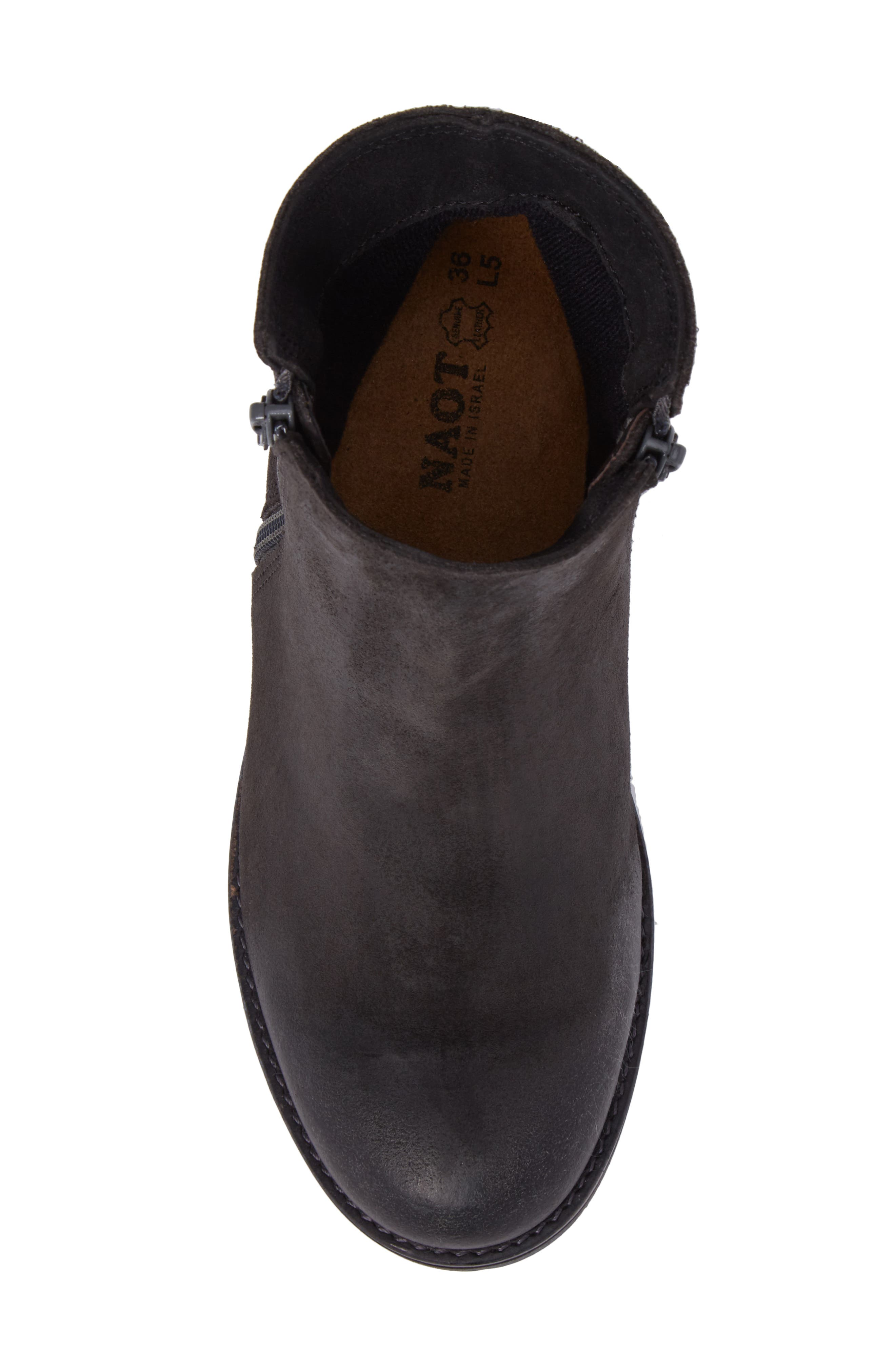 Wander Boot,                             Alternate thumbnail 5, color,                             OILY MIDNIGHT SUEDE