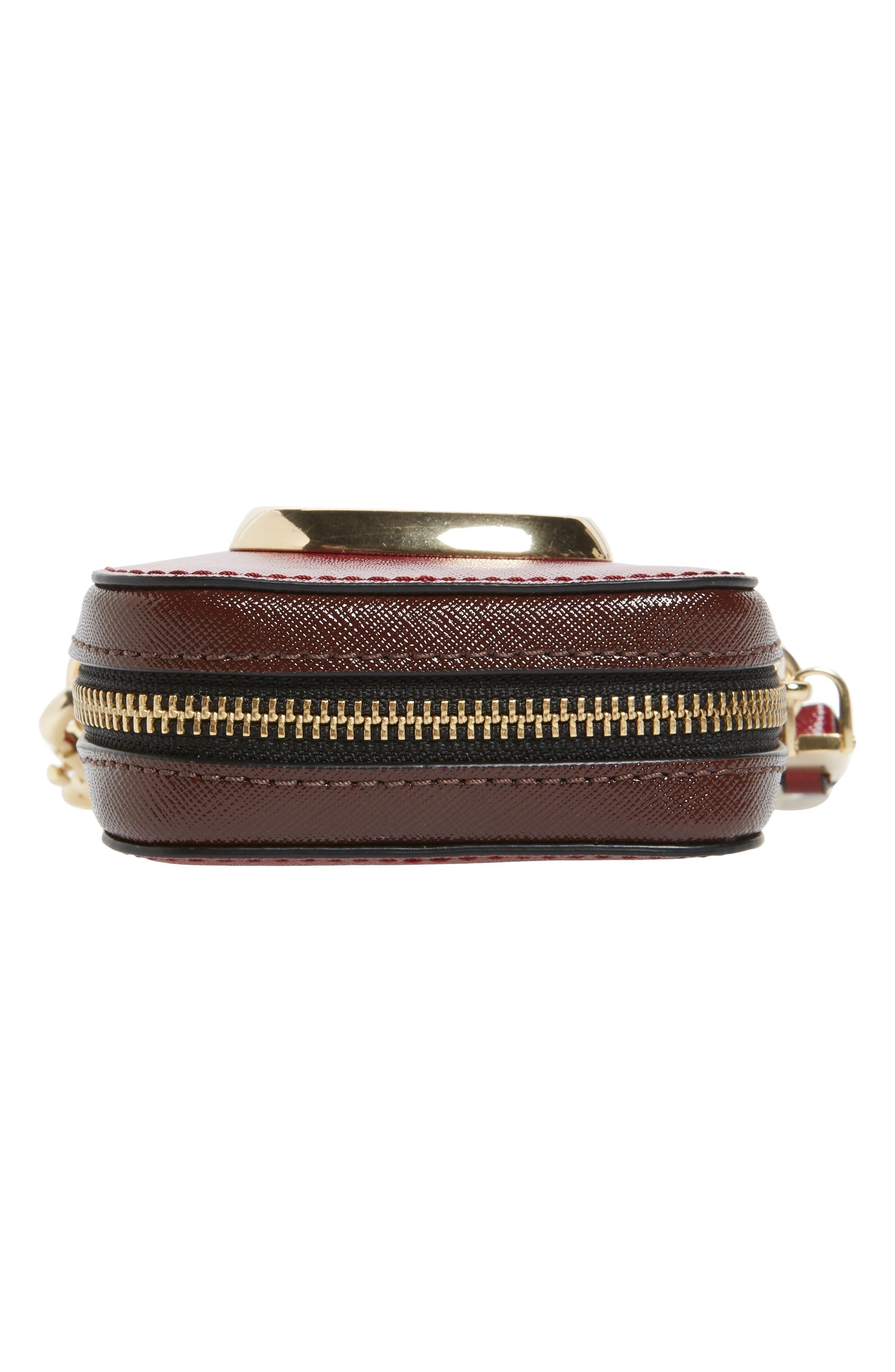Hot Shot Saffiano Leather Shoulder Bag,                             Alternate thumbnail 24, color,