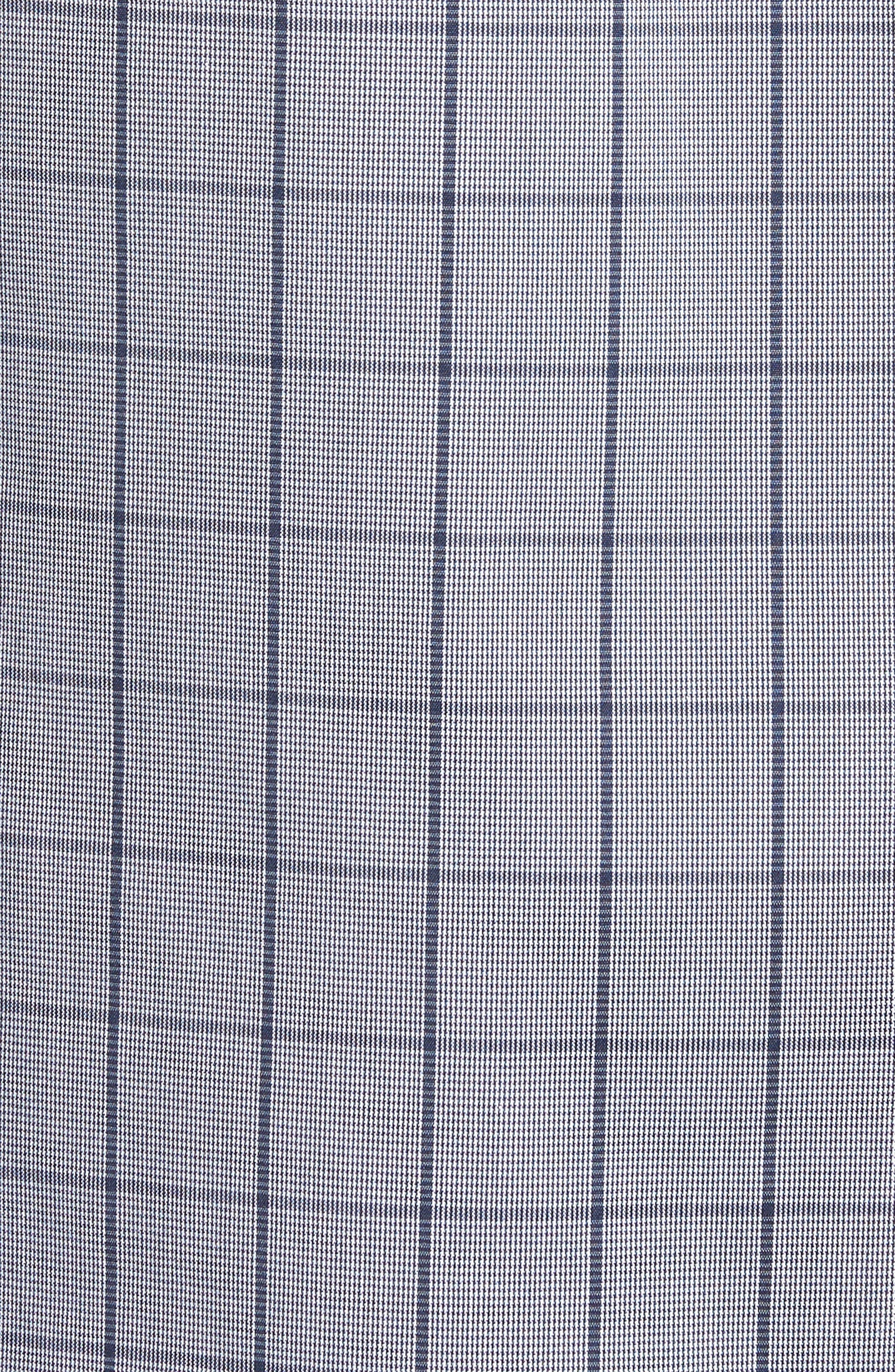 Murrary Trim Fit Stretch Check Sport Shirt,                             Alternate thumbnail 5, color,                             471