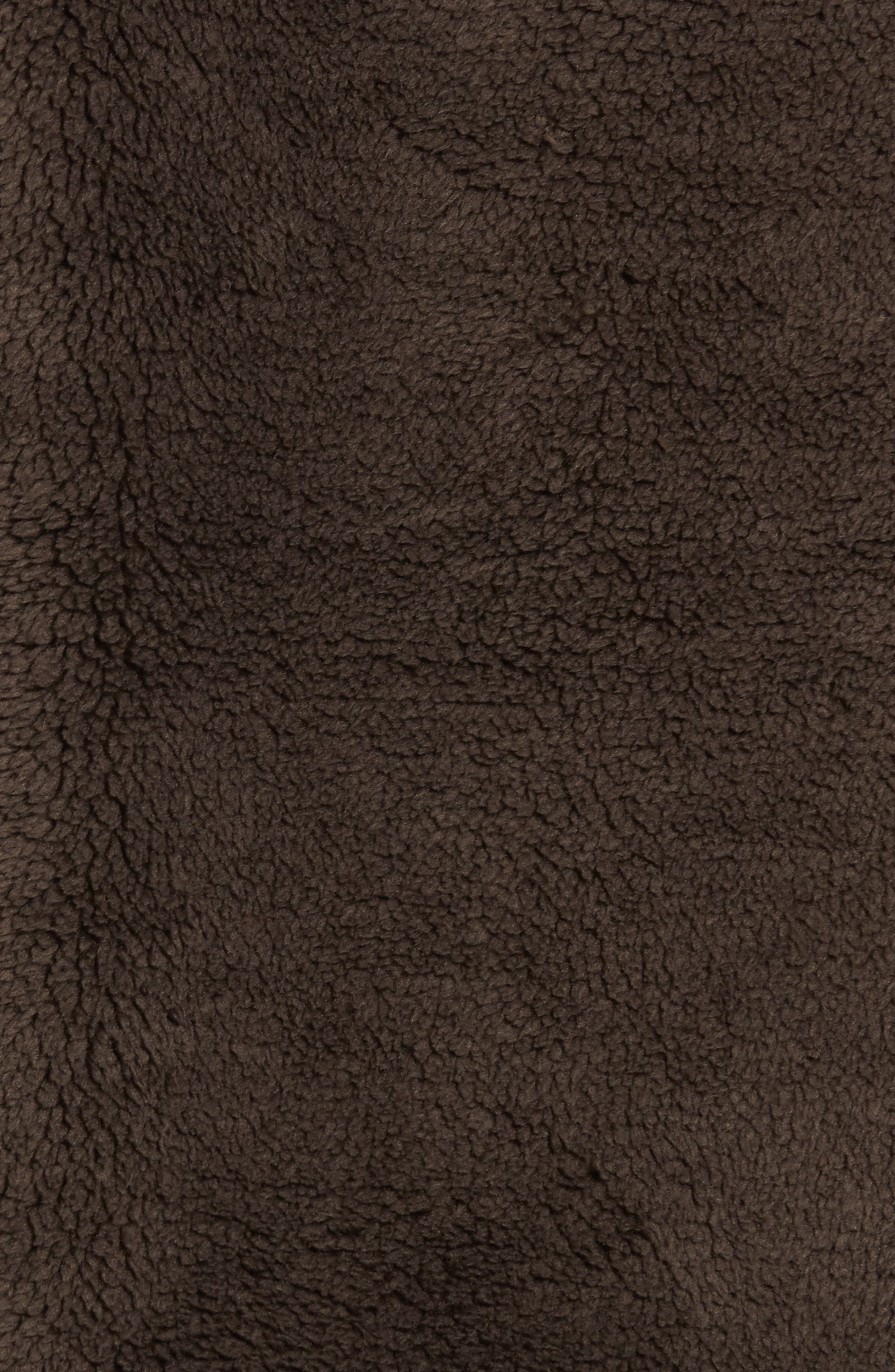Pebble Pile Quarter Zip Pullover,                             Alternate thumbnail 5, color,                             VINTAGE BR