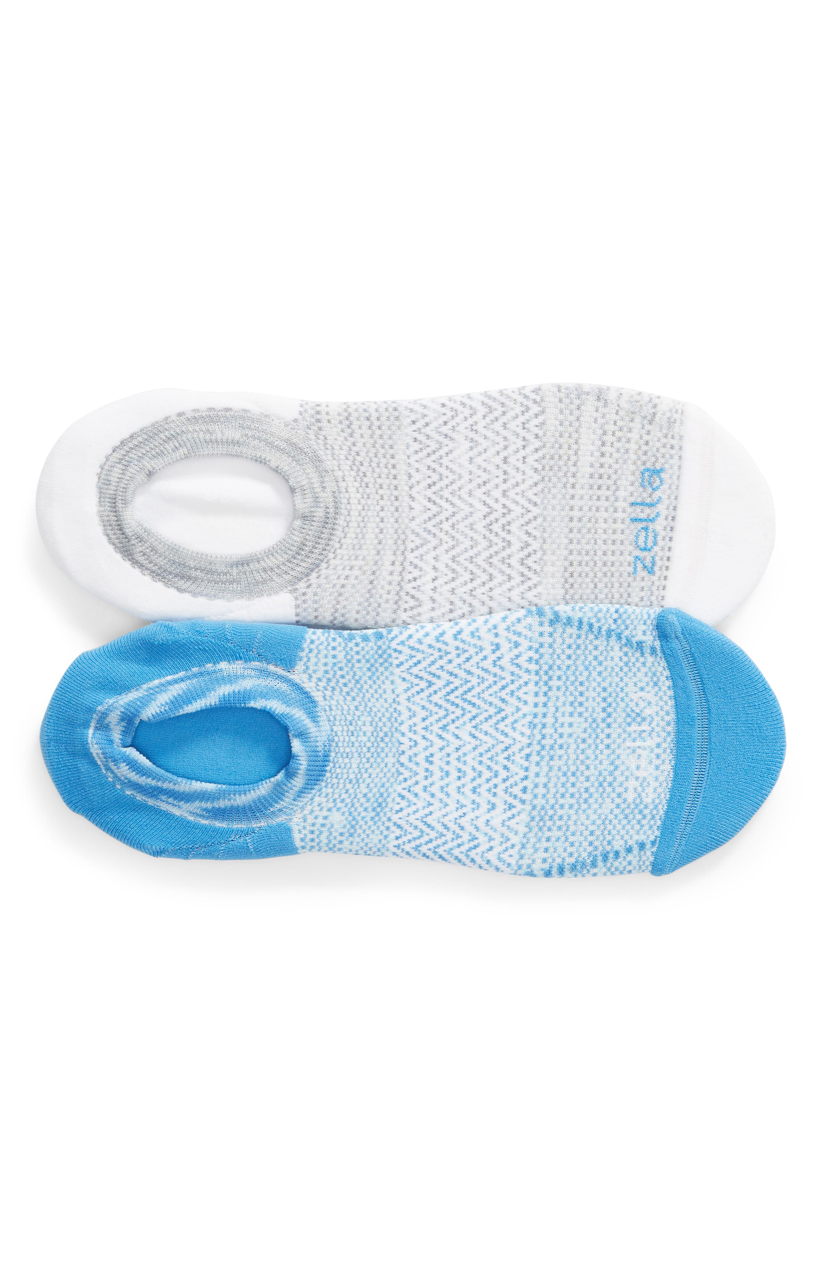 Ultra Light Run 2-Pack Socks,                         Main,                         color, BLUE CAMP
