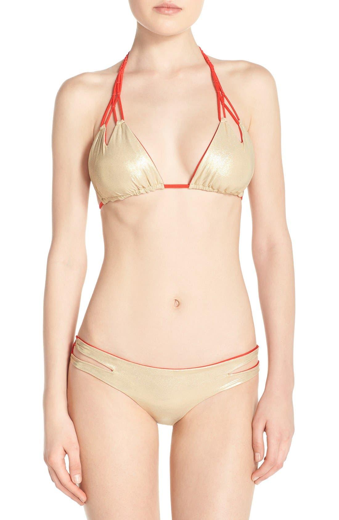 Reversible Triangle Bikini Top,                             Alternate thumbnail 23, color,