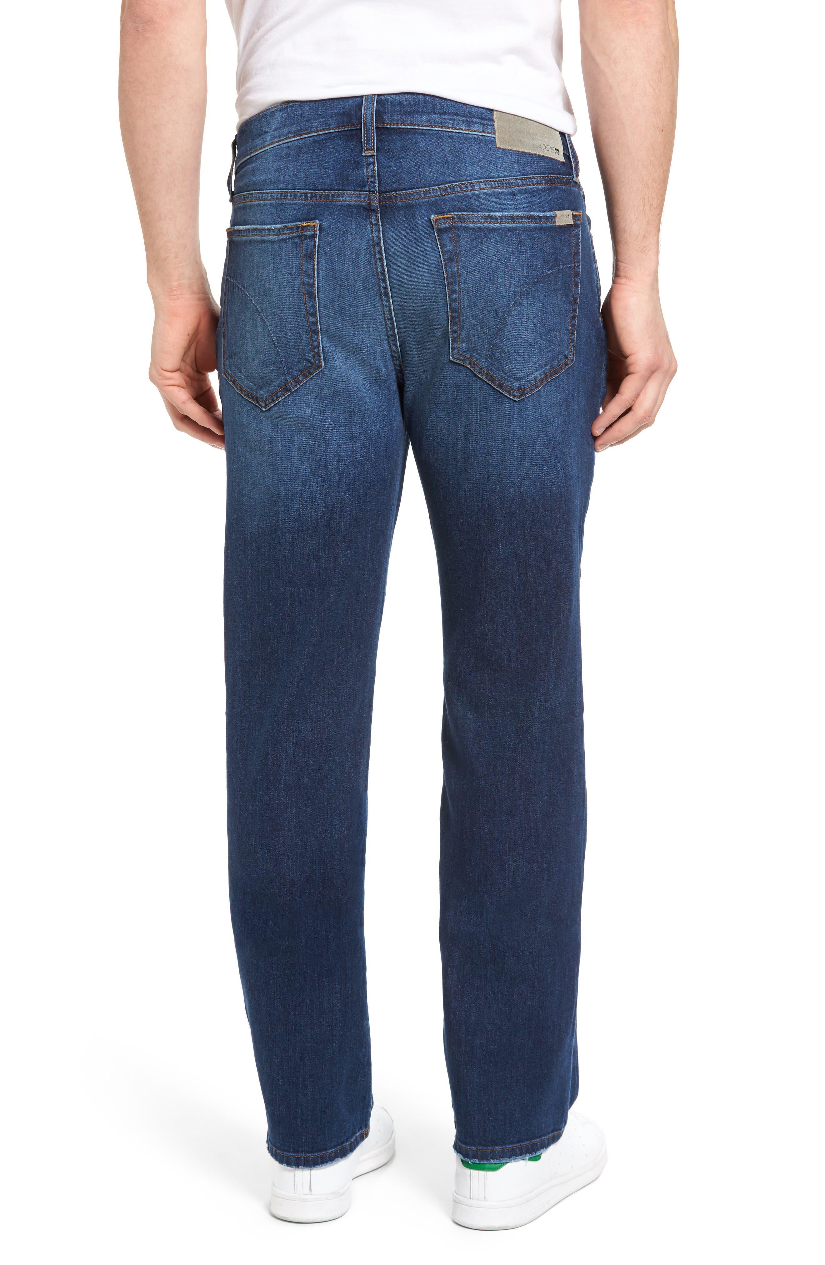 Classic Straight Leg Jeans,                             Alternate thumbnail 2, color,                             410