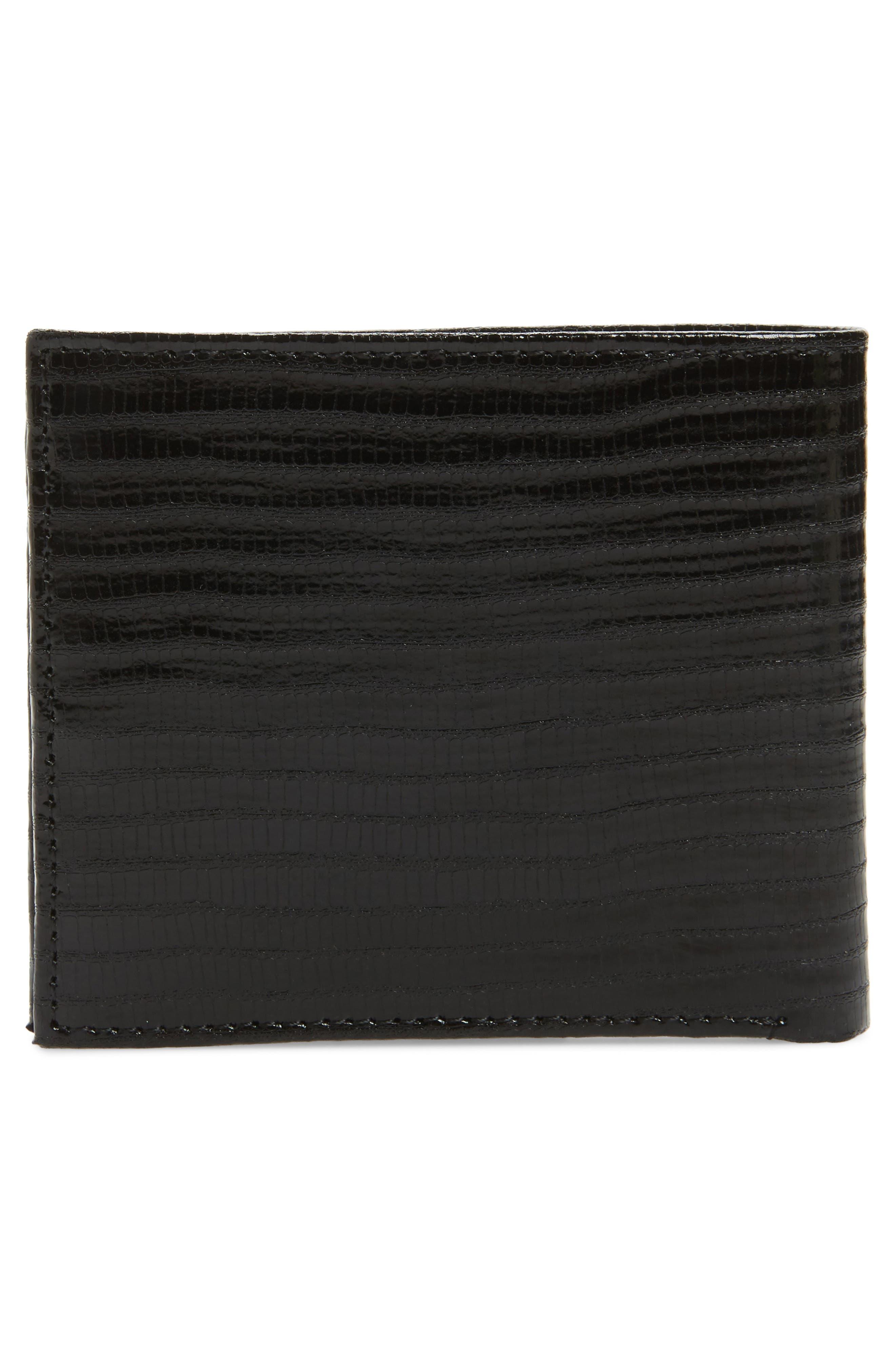 Slayts Leather Wallet,                             Alternate thumbnail 3, color,                             001