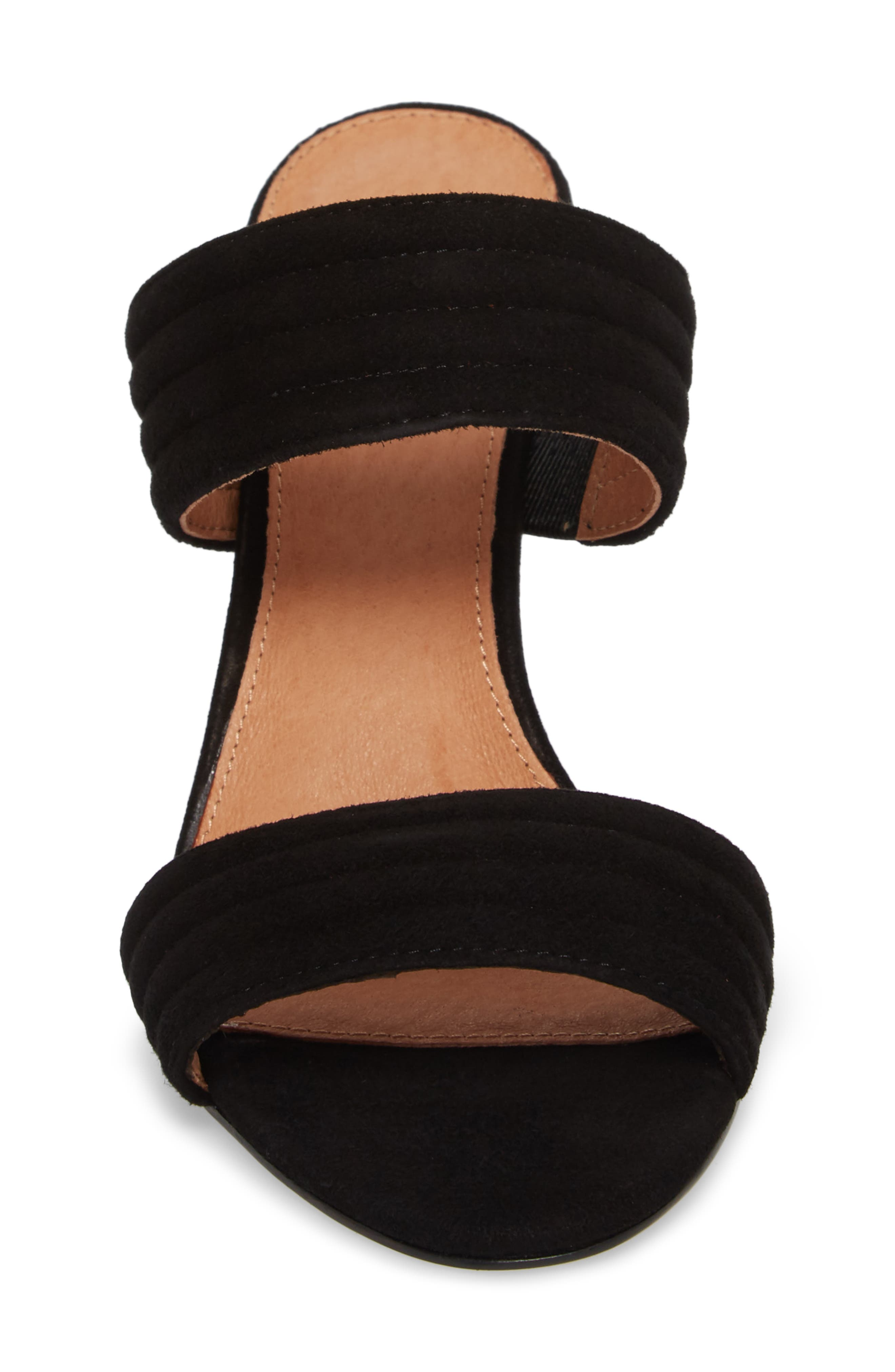 Della Slide Sandal,                             Alternate thumbnail 4, color,                             001