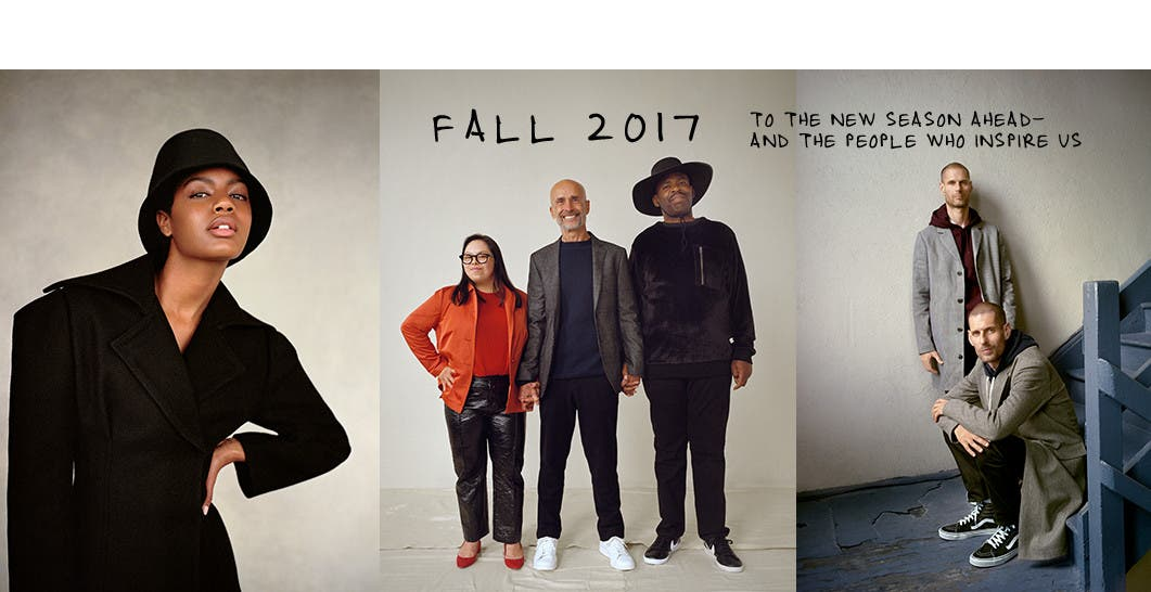 Fall 2017. To the new season ahead and the people who inspire us.