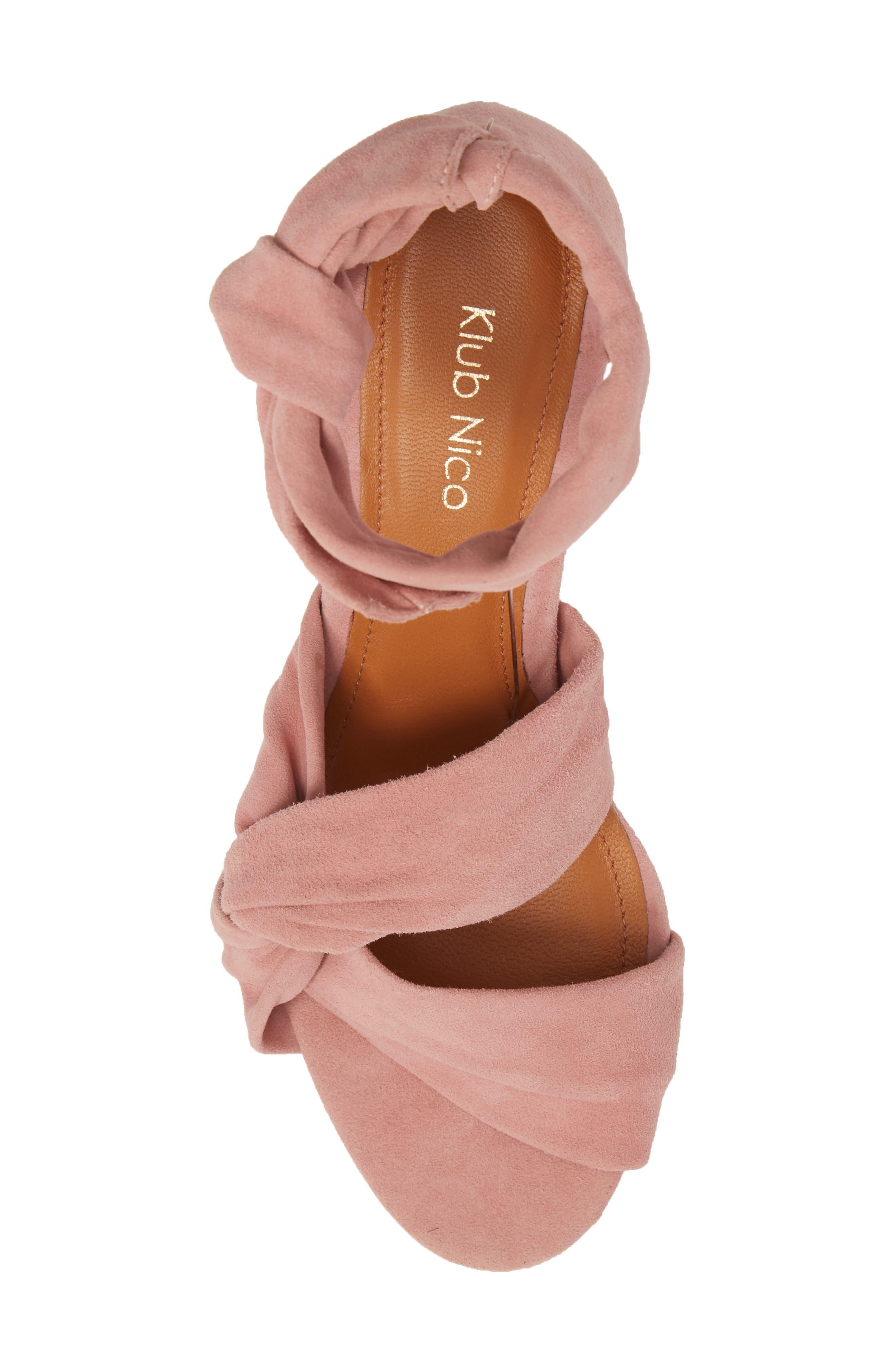 Anni Tie Ankle Sandal,                             Alternate thumbnail 15, color,