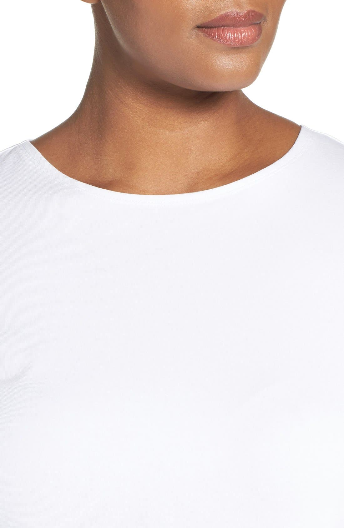 'Perfect Layer' Tank,                             Alternate thumbnail 5, color,                             PAPER WHITE