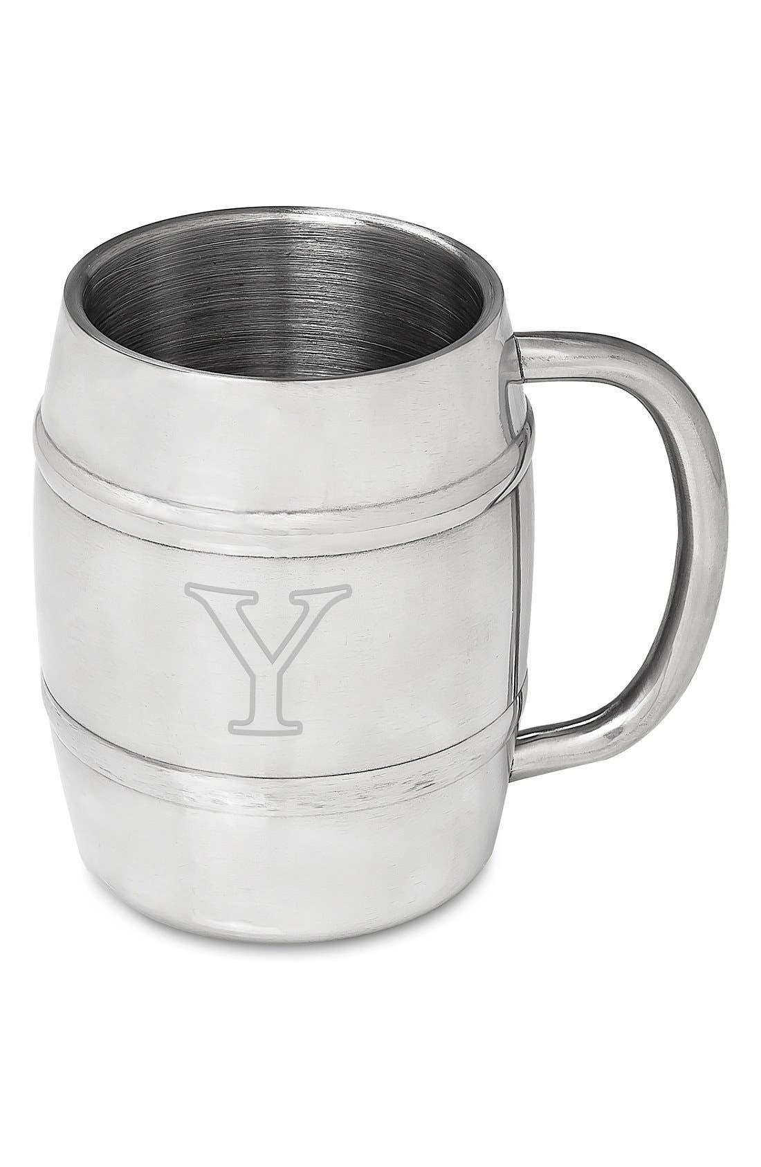 Monogram Stainless Steel Keg Mug,                             Main thumbnail 26, color,