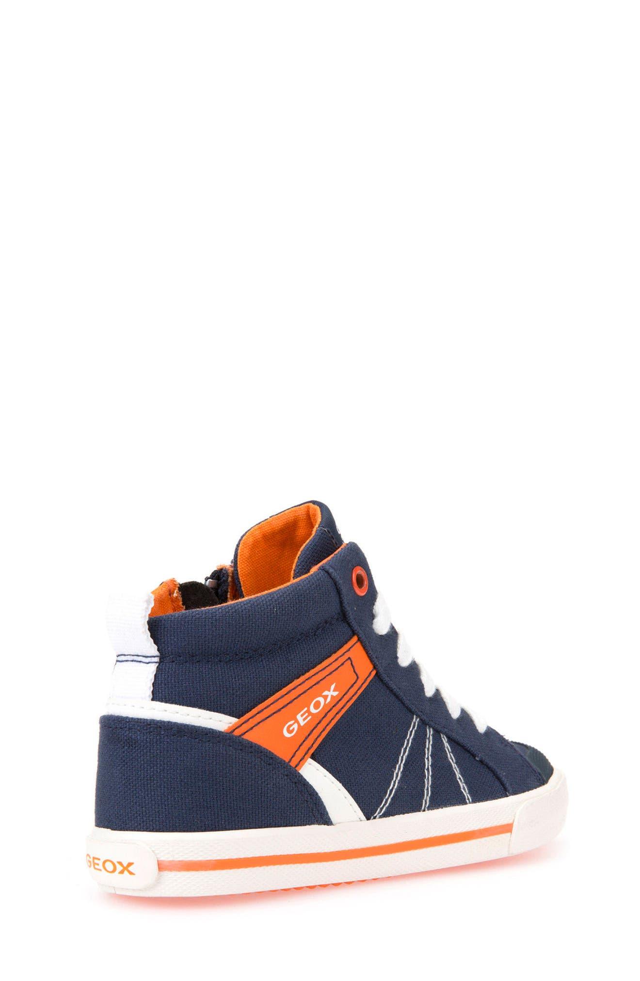 Kilwi Zip High Top Sneaker,                             Alternate thumbnail 2, color,                             402