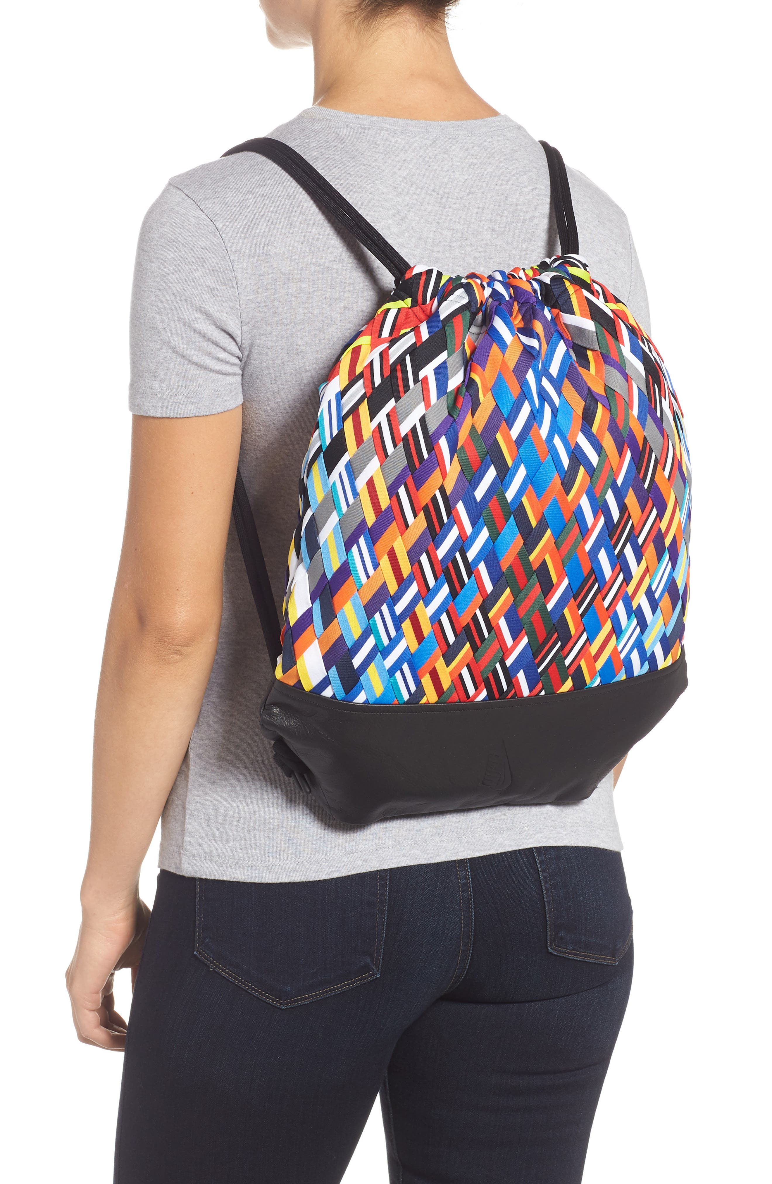 NIKE,                             NikeLab Basketball Backpack,                             Alternate thumbnail 2, color,                             BLACK