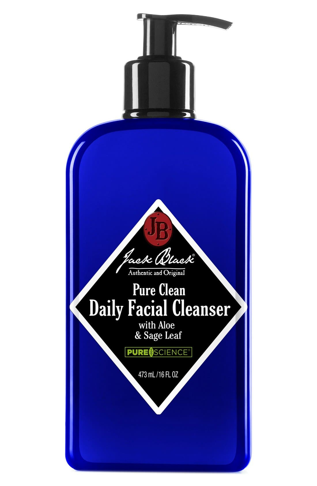Pure Clean Daily Facial Cleanser,                         Main,                         color, 000