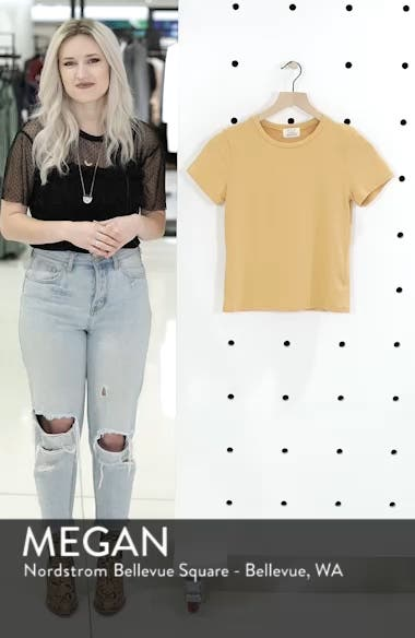 Fitted Tee, sales video thumbnail