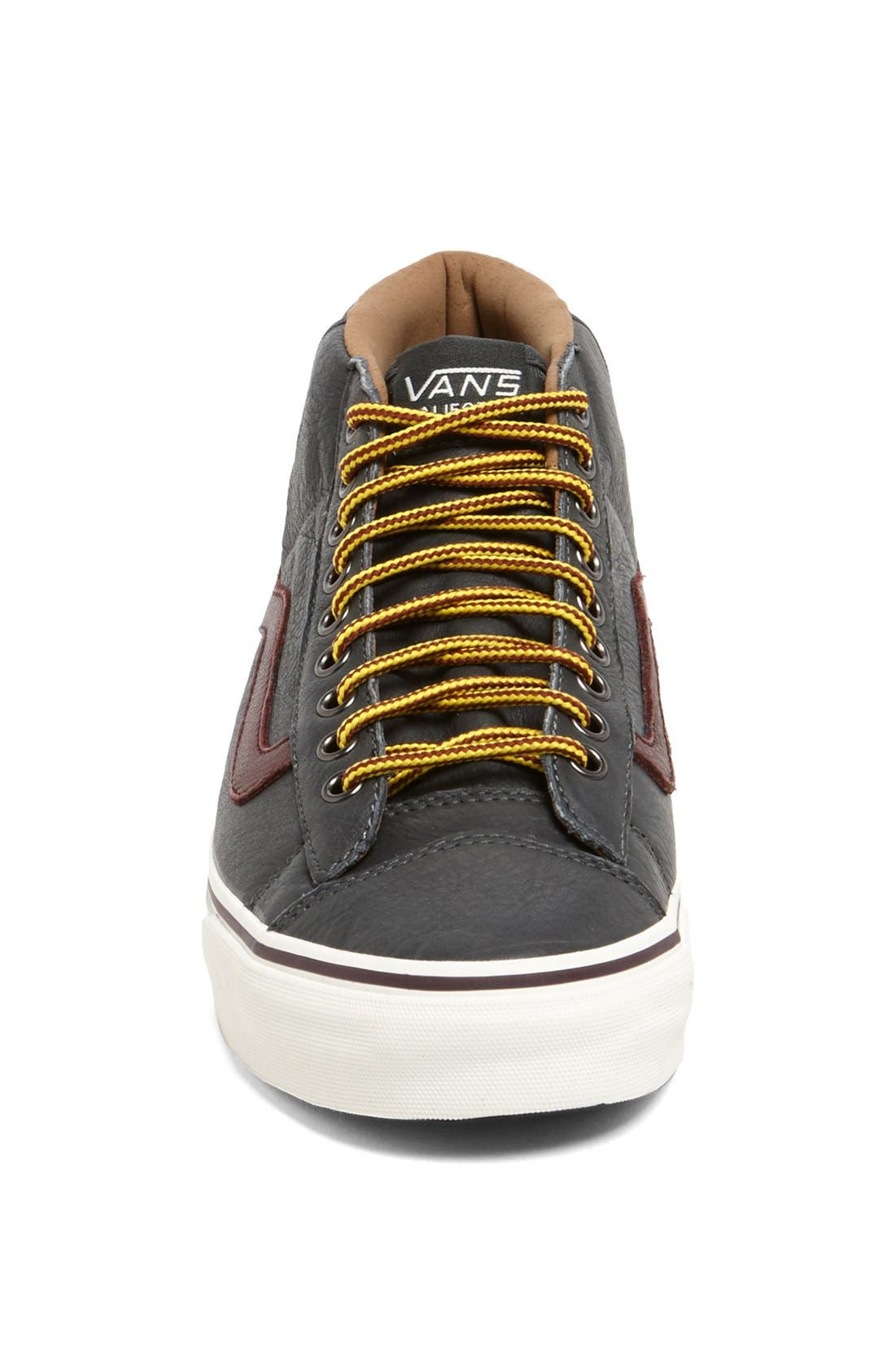 'Mid Skool 77' Sneaker,                             Alternate thumbnail 4, color,                             001