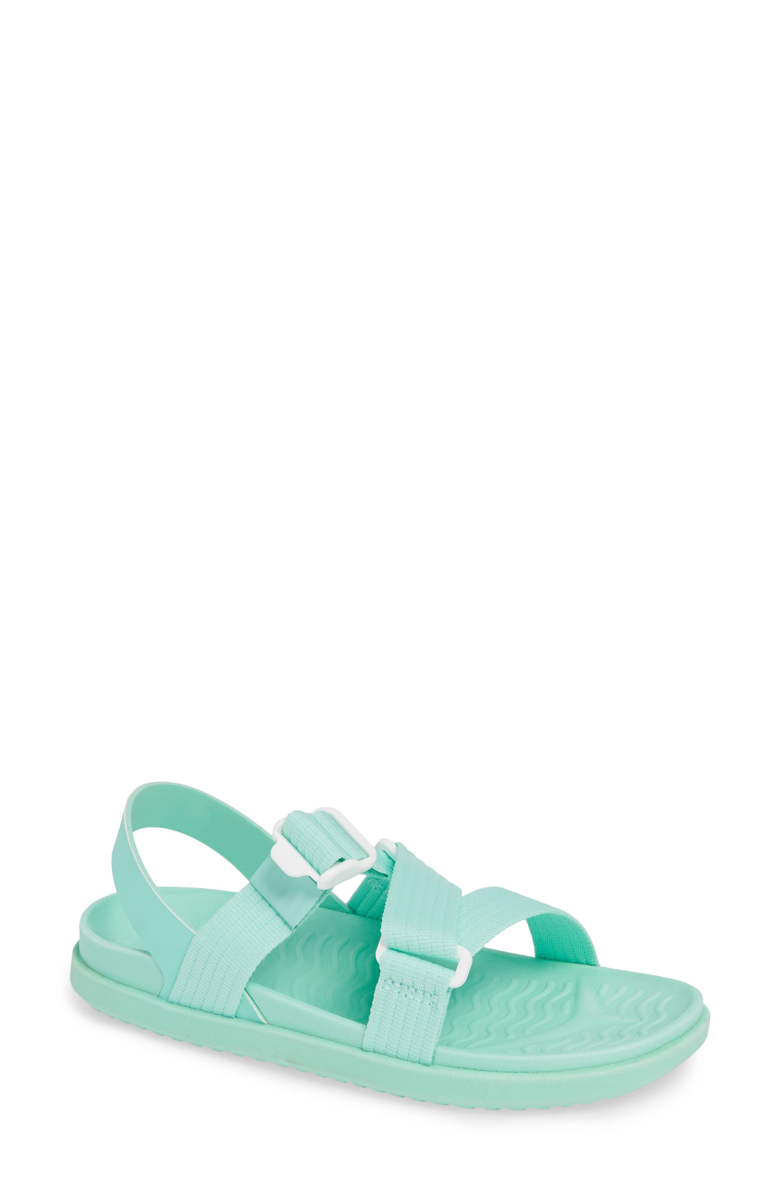 Native Shoes Zurich Vegan Sandal, Blue/green