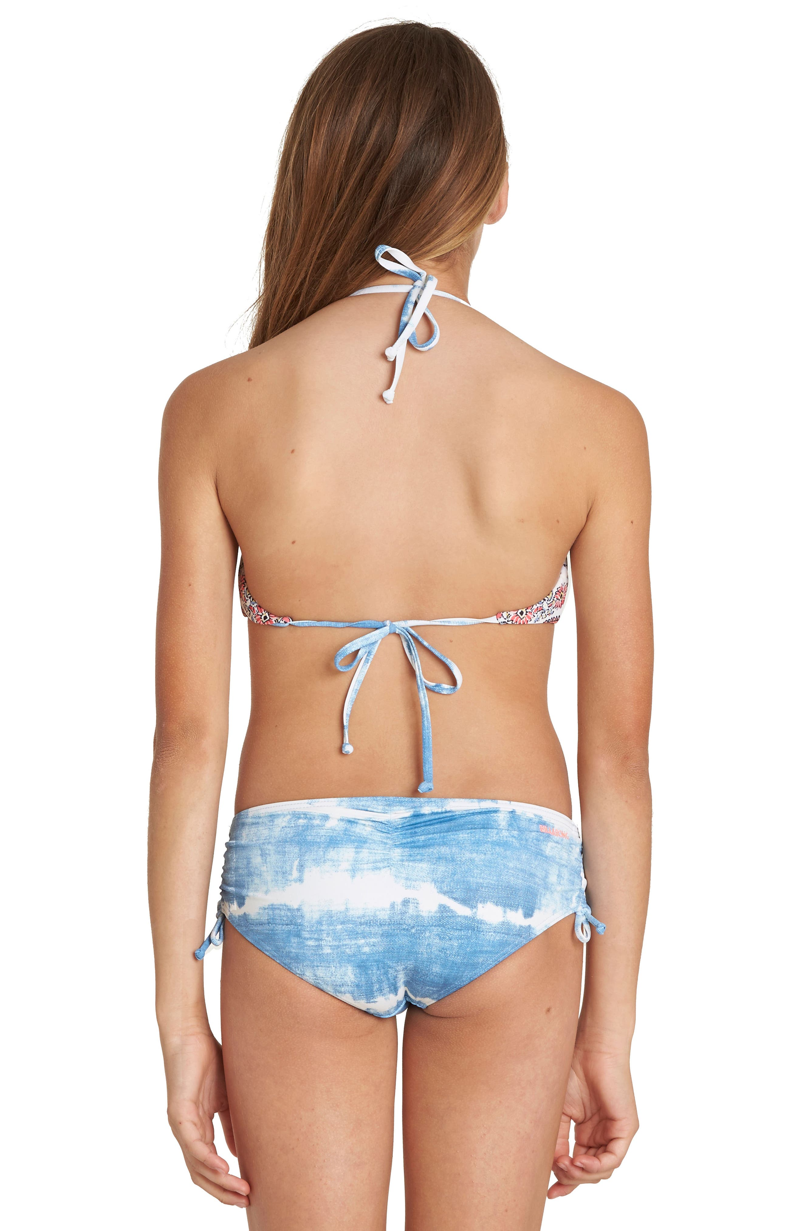 Lil Bliss Two-Piece Halter Swimsuit,                             Alternate thumbnail 4, color,