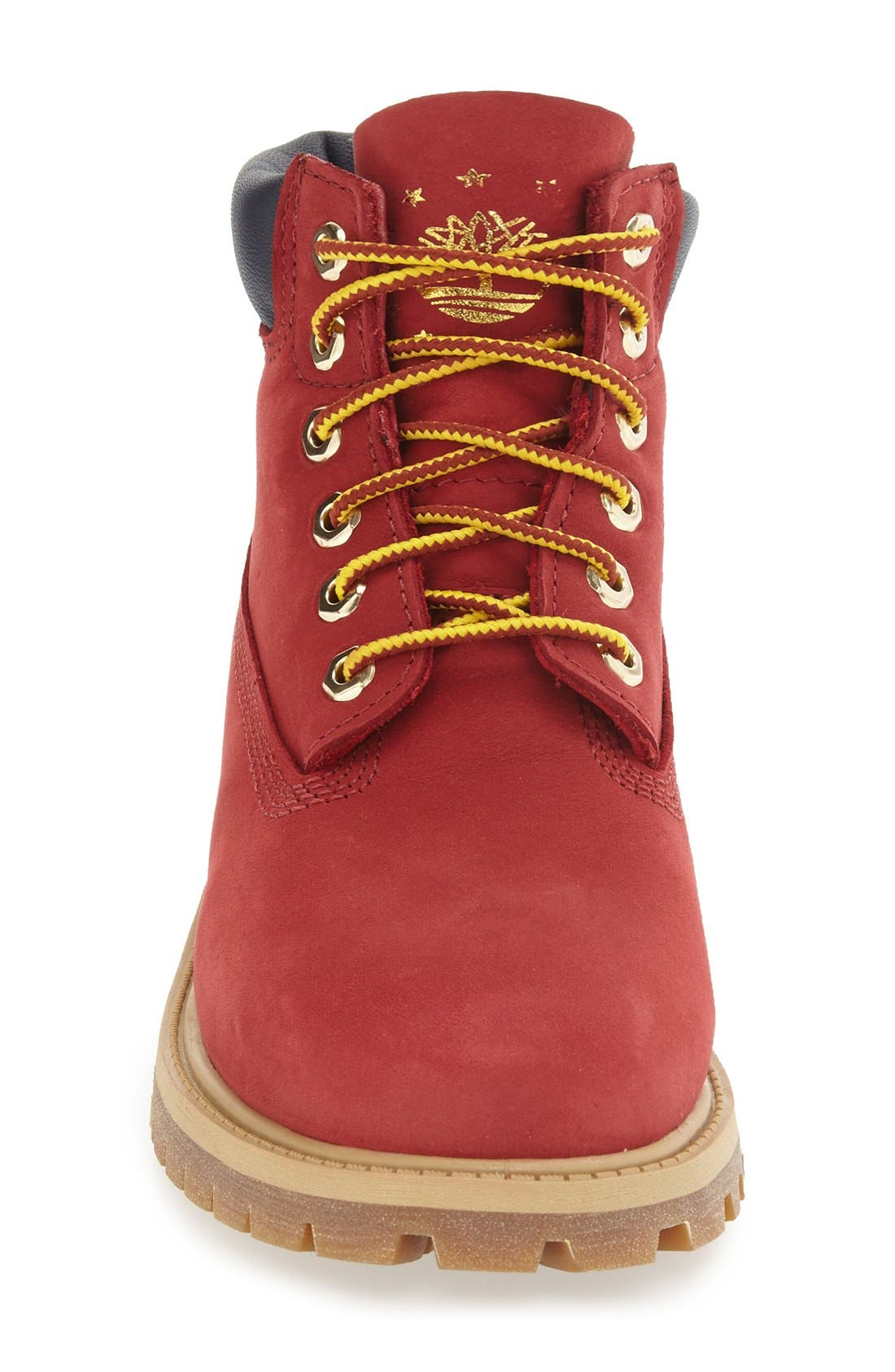 'Patriotic 6 Inch' Waterproof PrimaLoft<sup>®</sup> ECO Insulated Winter Boot,                             Alternate thumbnail 3, color,