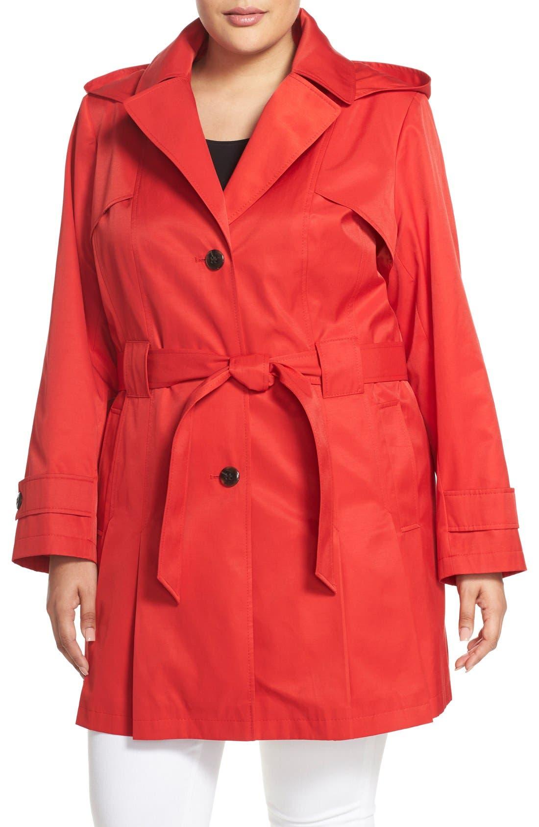 'Scarpa' Single Breasted Trench Coat,                             Main thumbnail 5, color,