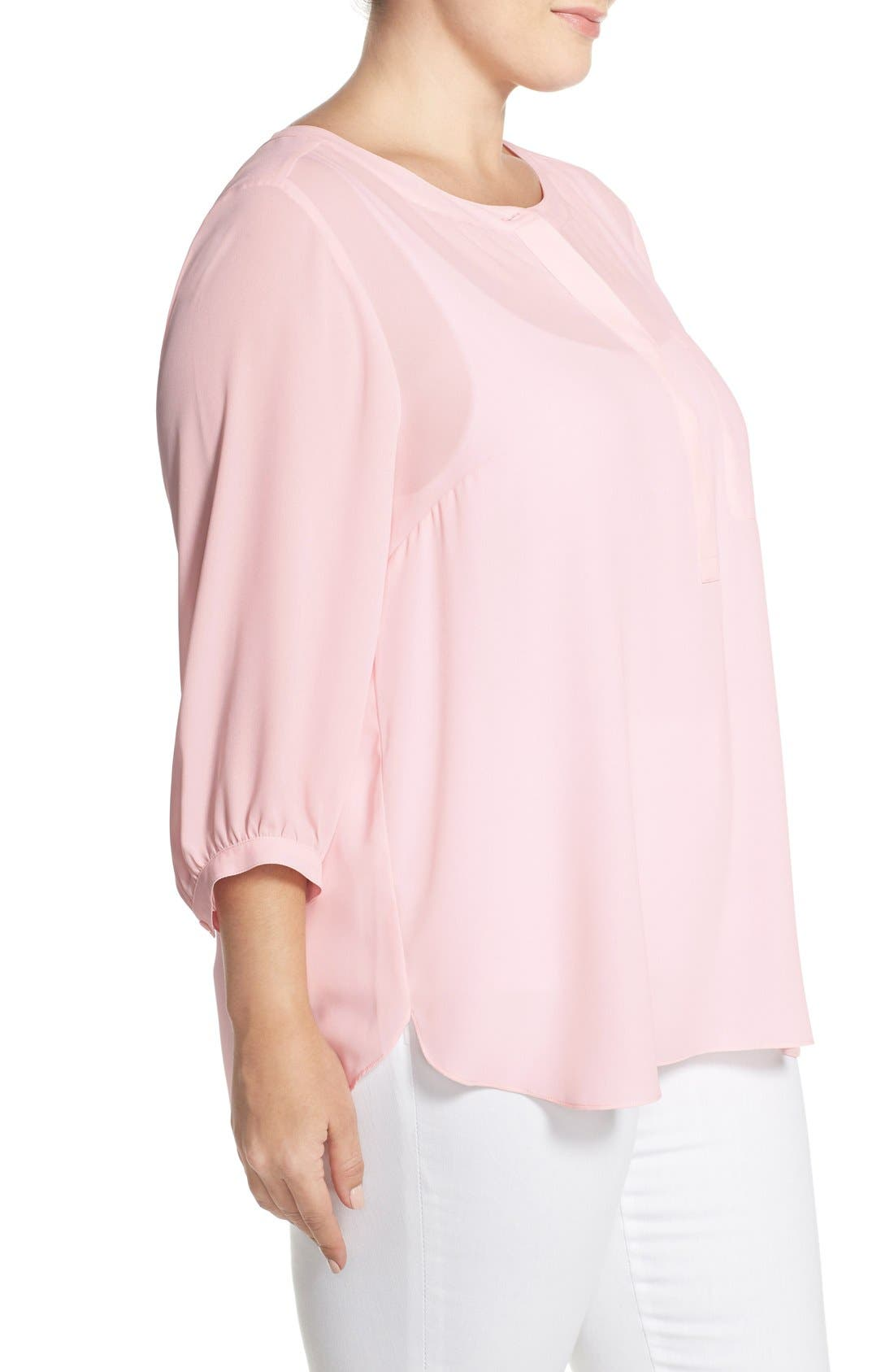 Henley Top,                             Alternate thumbnail 398, color,