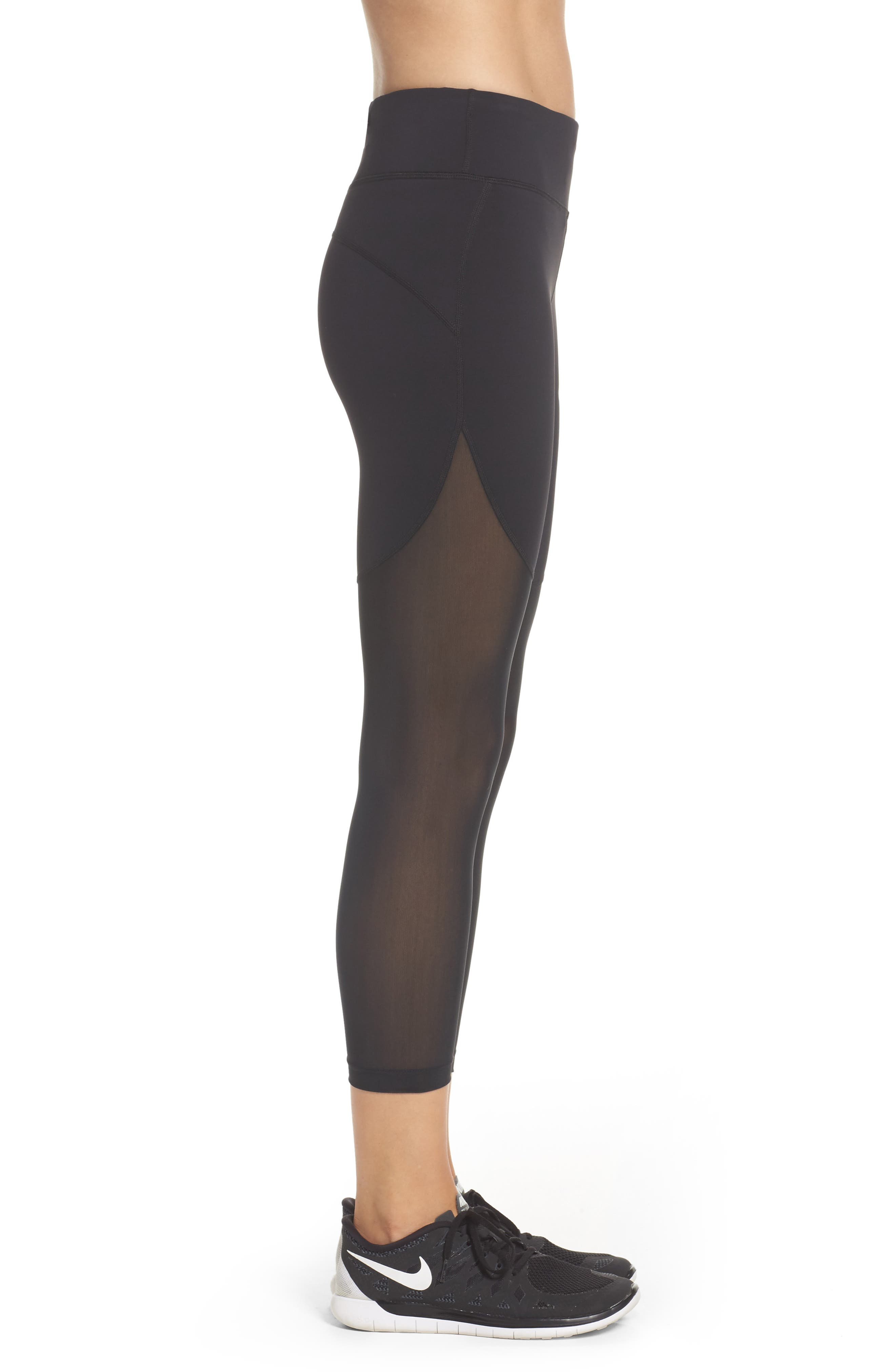Power Epic Crop Tights,                             Alternate thumbnail 6, color,
