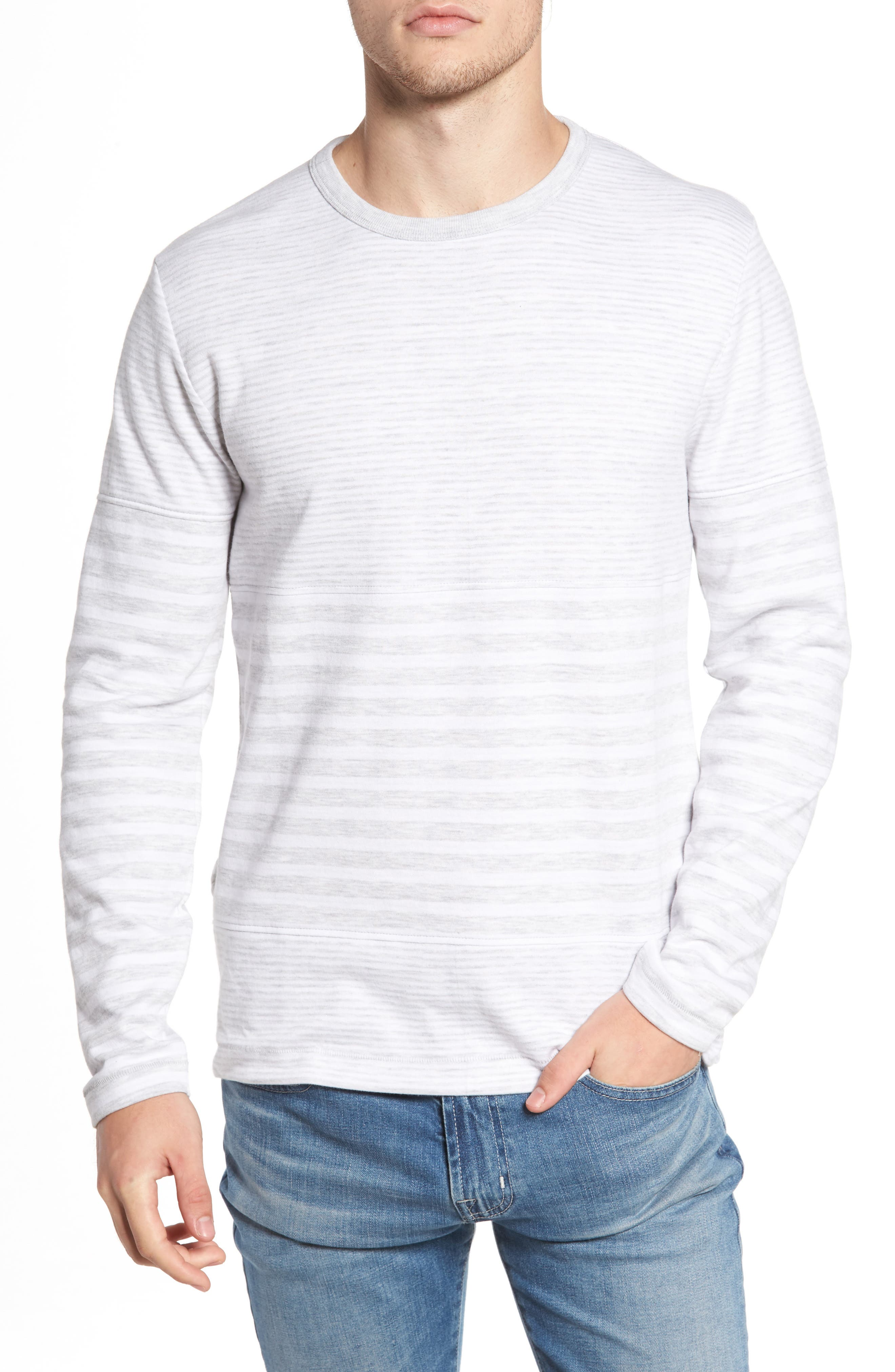 Stripe Long Sleeve T-Shirt,                         Main,                         color, 044