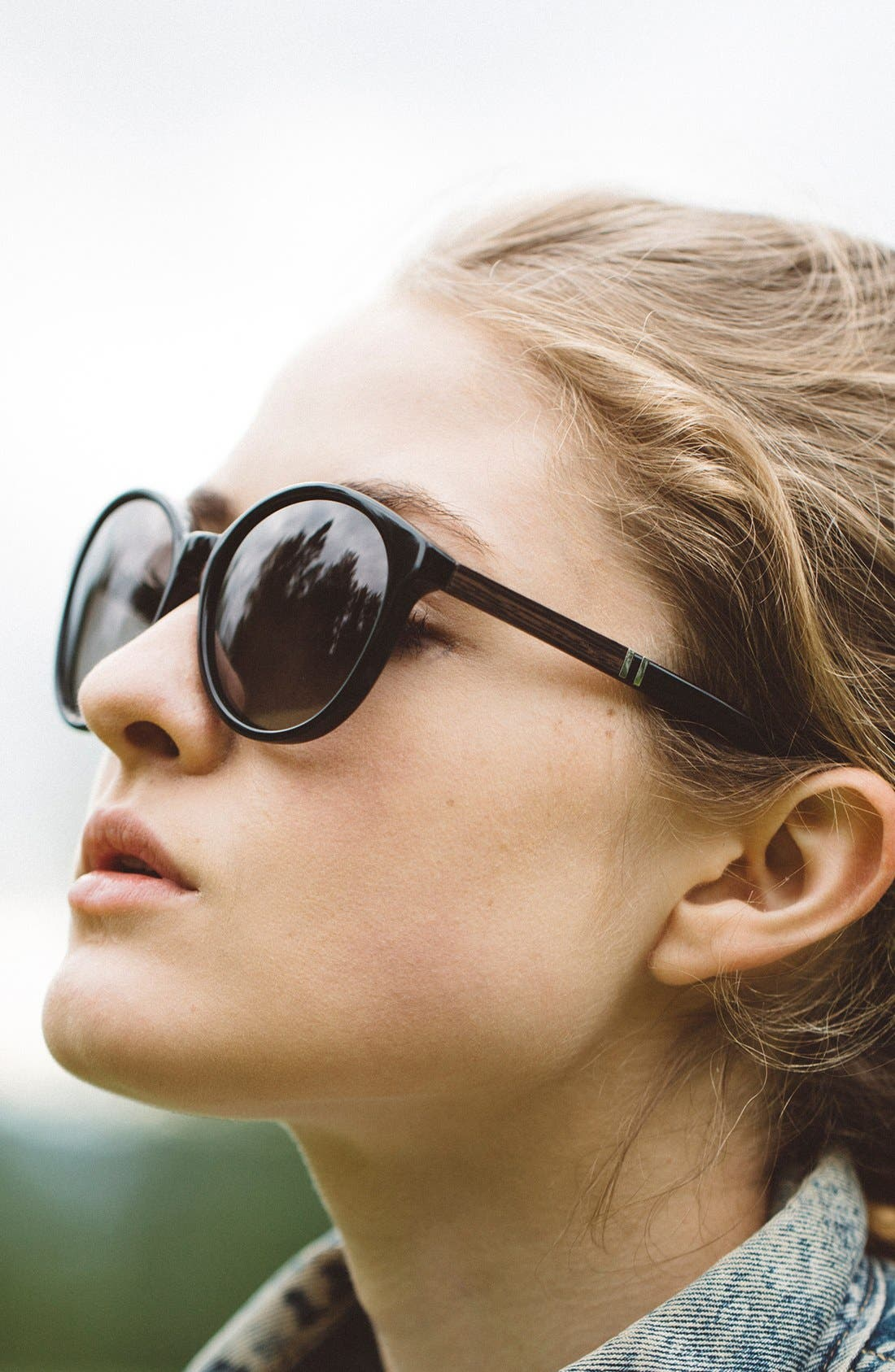 'Bailey' 53mm Round Sunglasses,                             Alternate thumbnail 9, color,