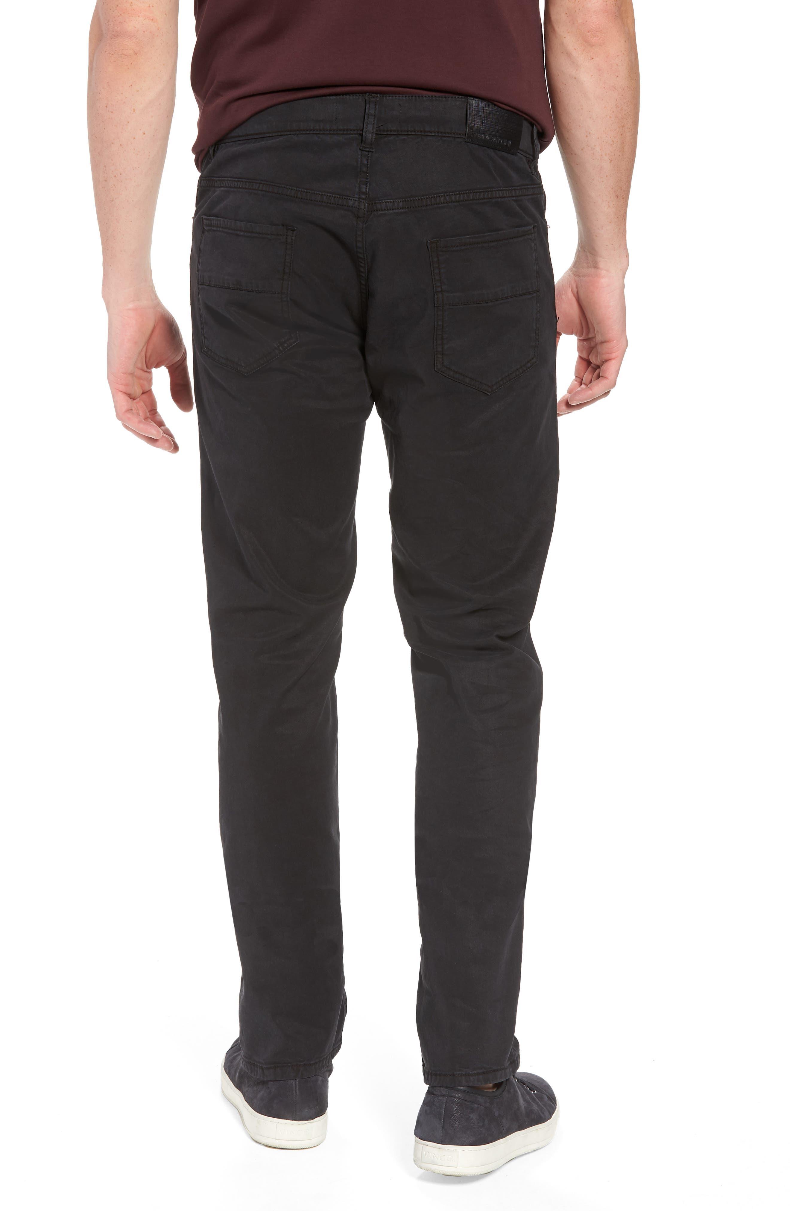 Trim Fit Pants,                             Alternate thumbnail 2, color,                             001
