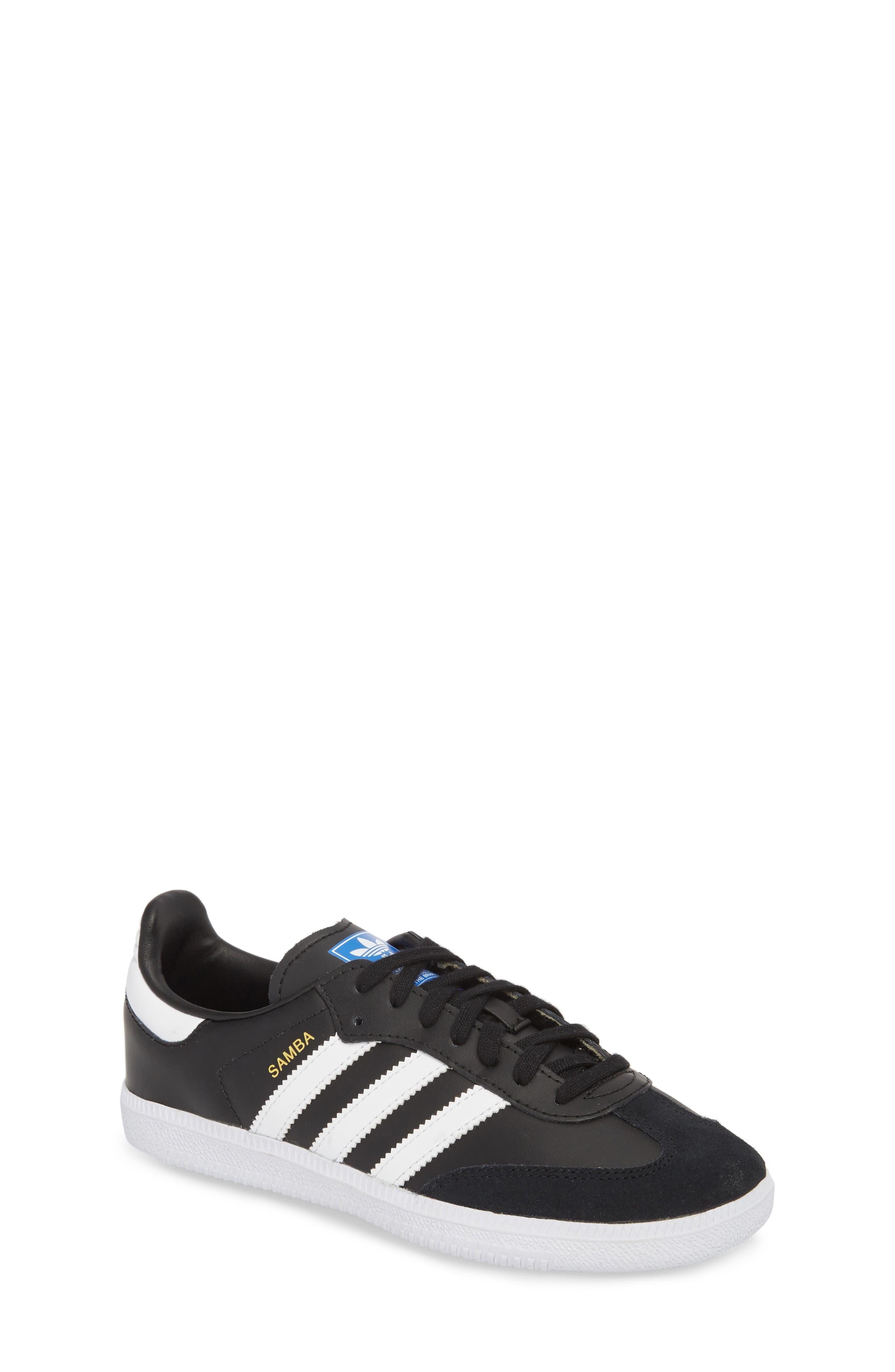 Samba OG Sneaker,                             Main thumbnail 1, color,                             CORE BLACK/ WHITE