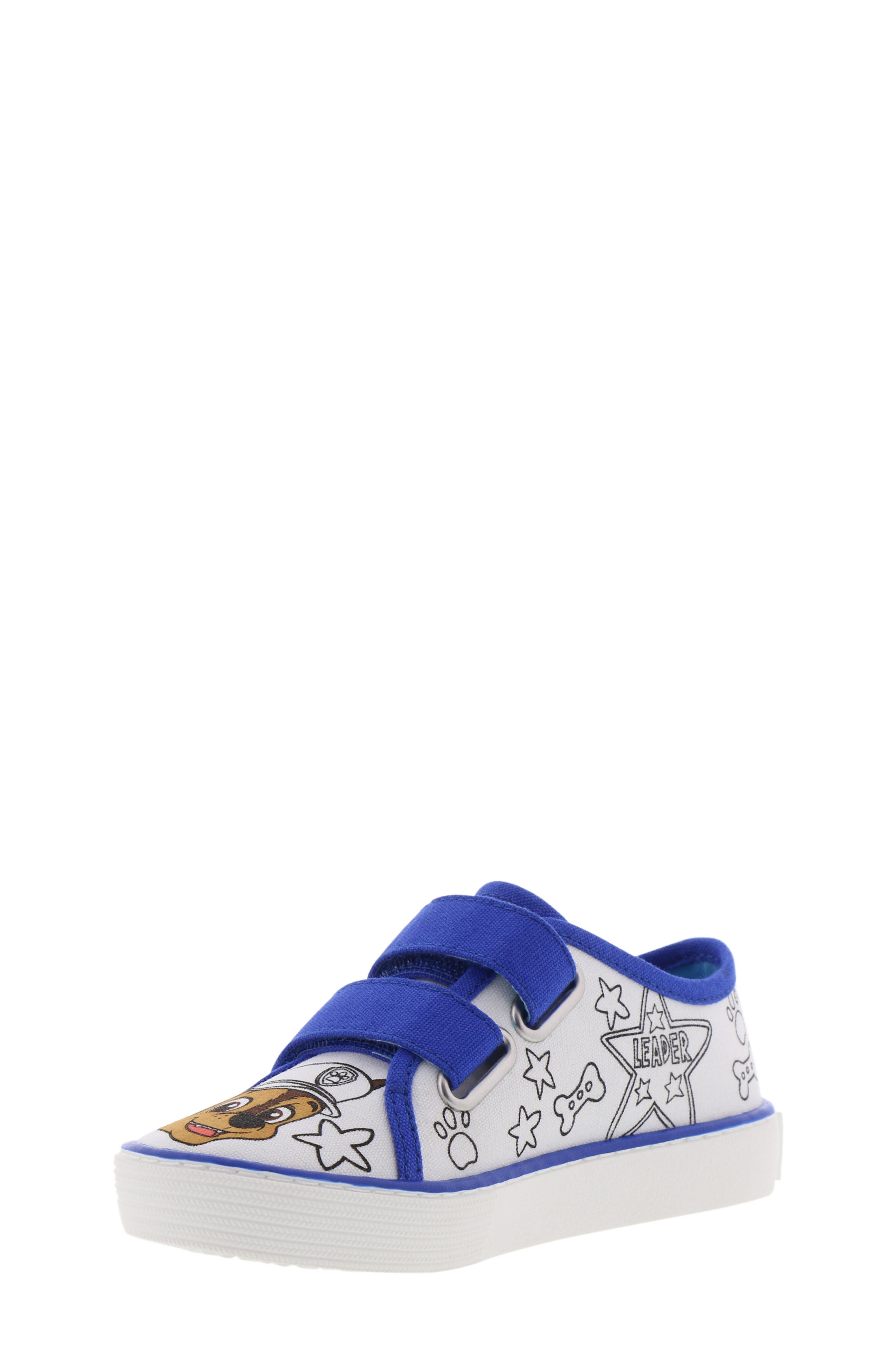 Chase Color DIY Sneaker,                             Alternate thumbnail 7, color,                             WHITE CHASE BLUE