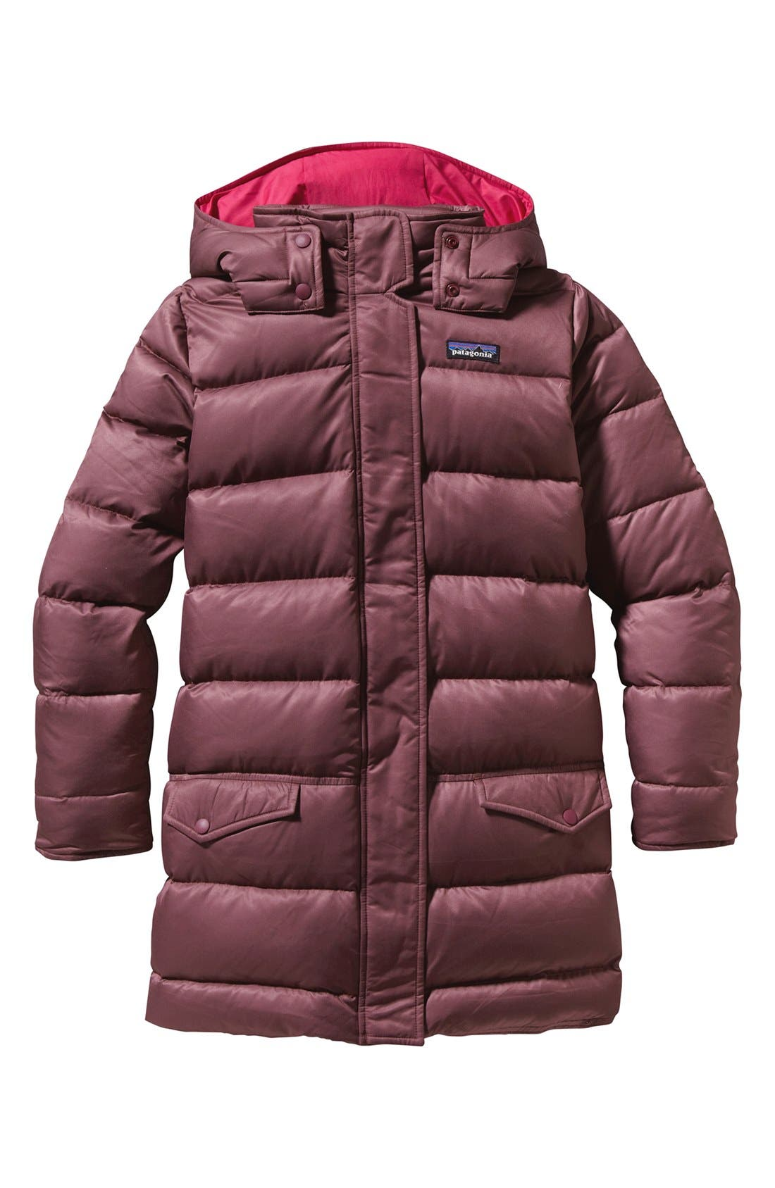'Down For Fun' Water Repellent Coat,                             Main thumbnail 6, color,