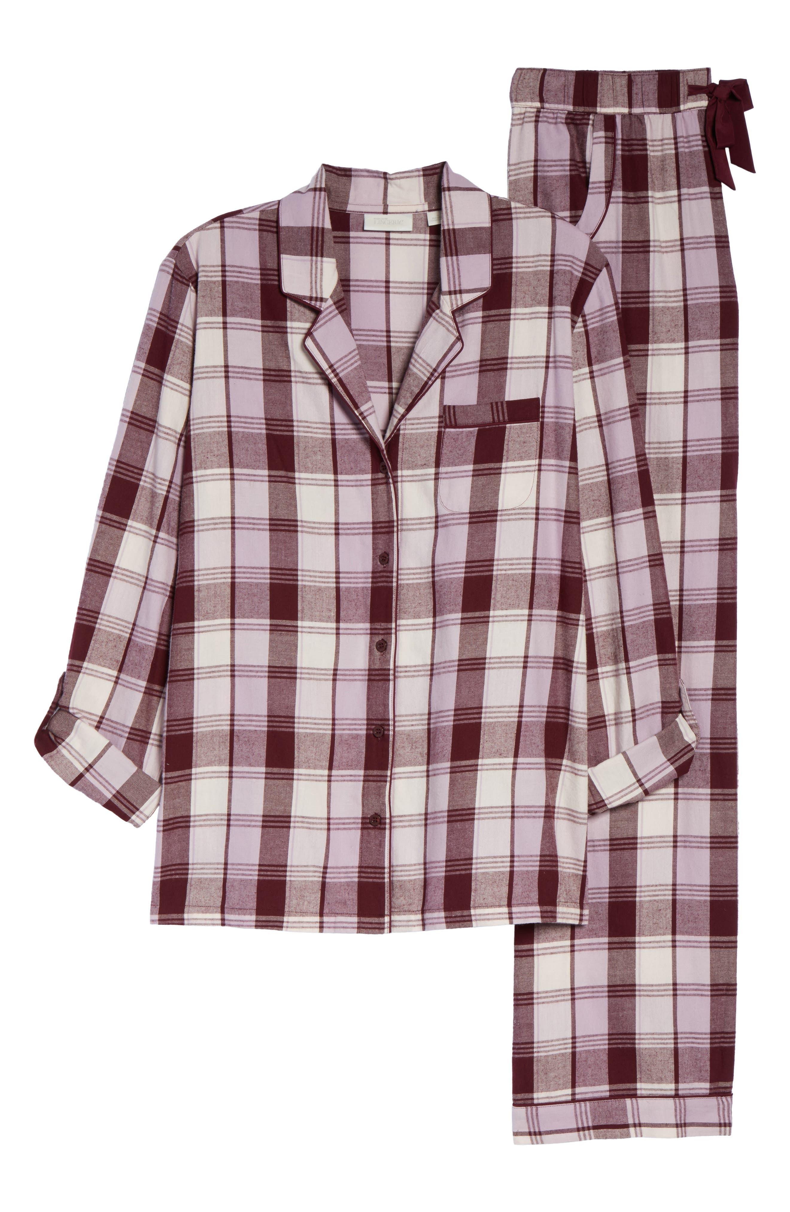 Cotton Twill Pajamas,                             Alternate thumbnail 44, color,