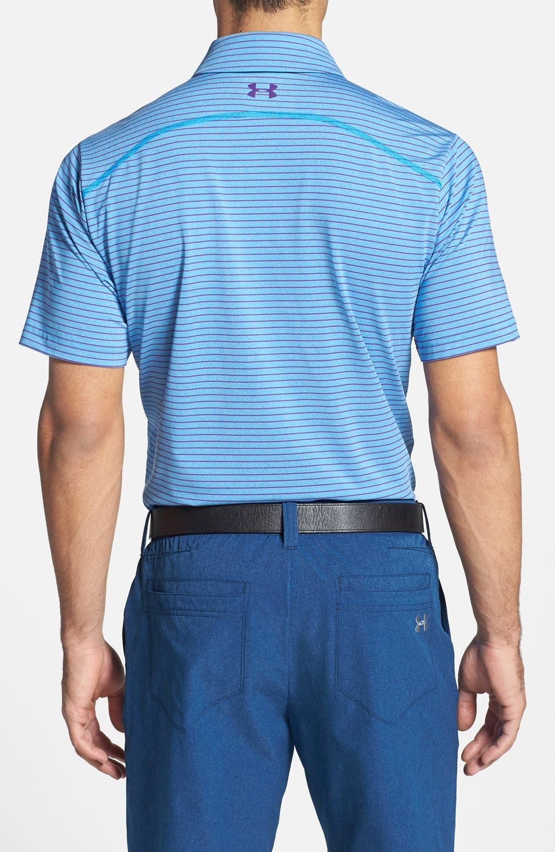 'Playoff' Loose Fit Short Sleeve Polo,                             Alternate thumbnail 85, color,
