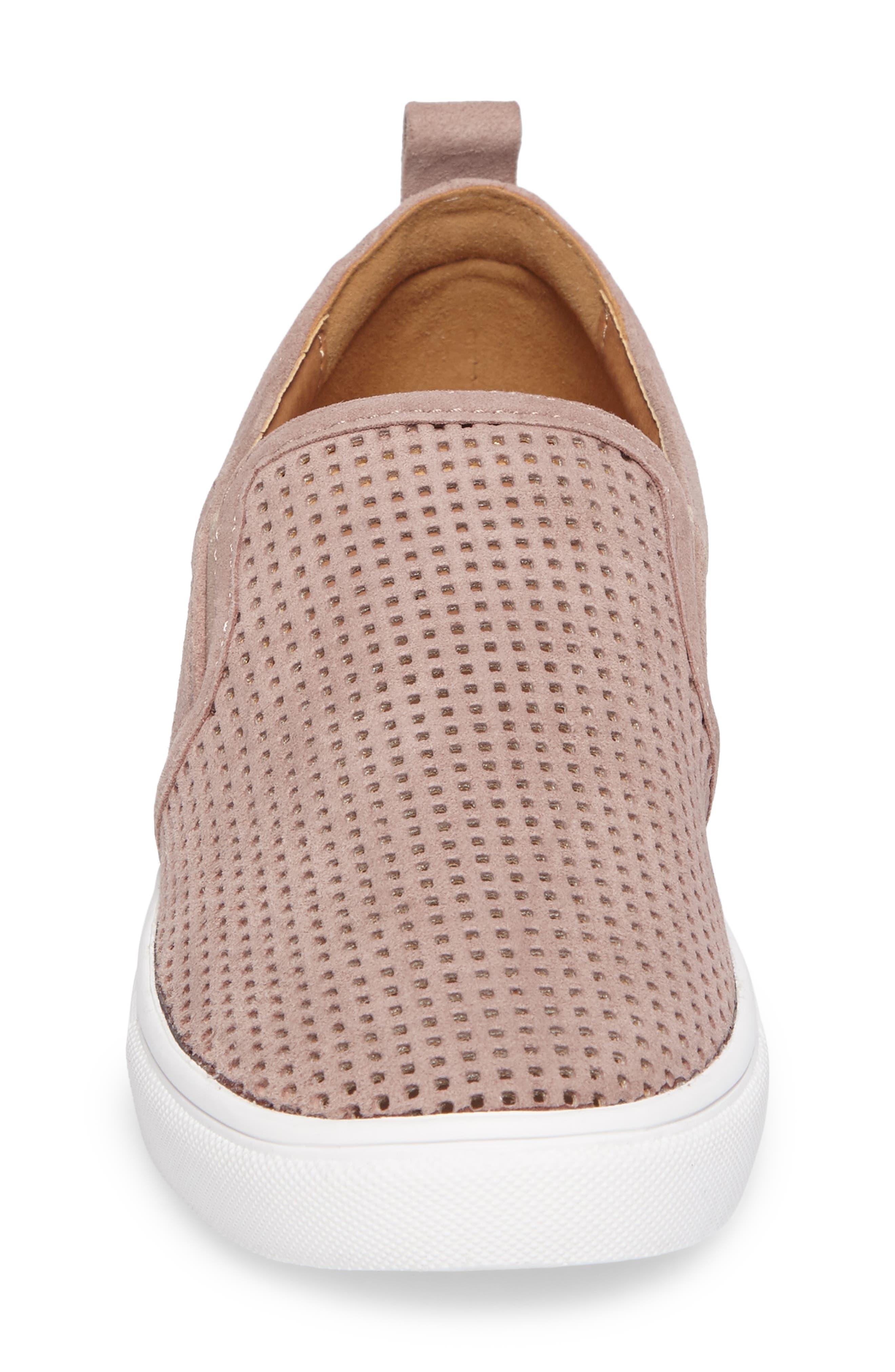 Eden Perforated Slip-On Sneaker,                             Alternate thumbnail 16, color,