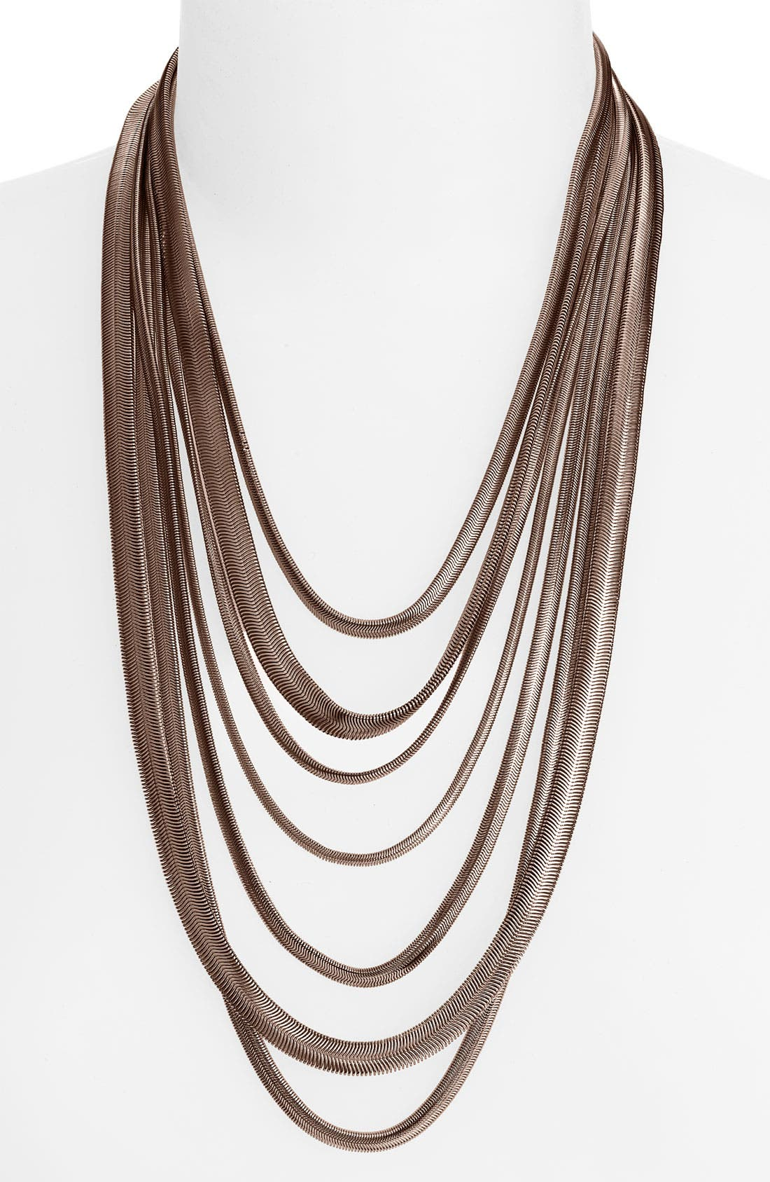 NORDSTROM Multi Row Chain Necklace, Main, color, 200