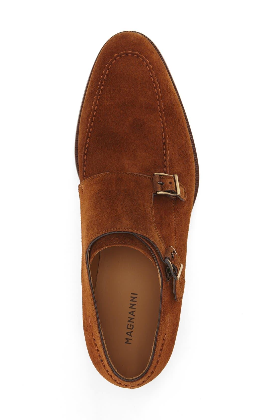 'Tomas' Double Monk Strap Shoe,                             Alternate thumbnail 3, color,                             219