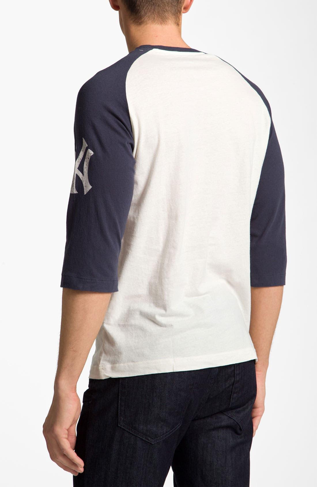'New York Yankees' Baseball T-Shirt,                             Alternate thumbnail 2, color,                             280