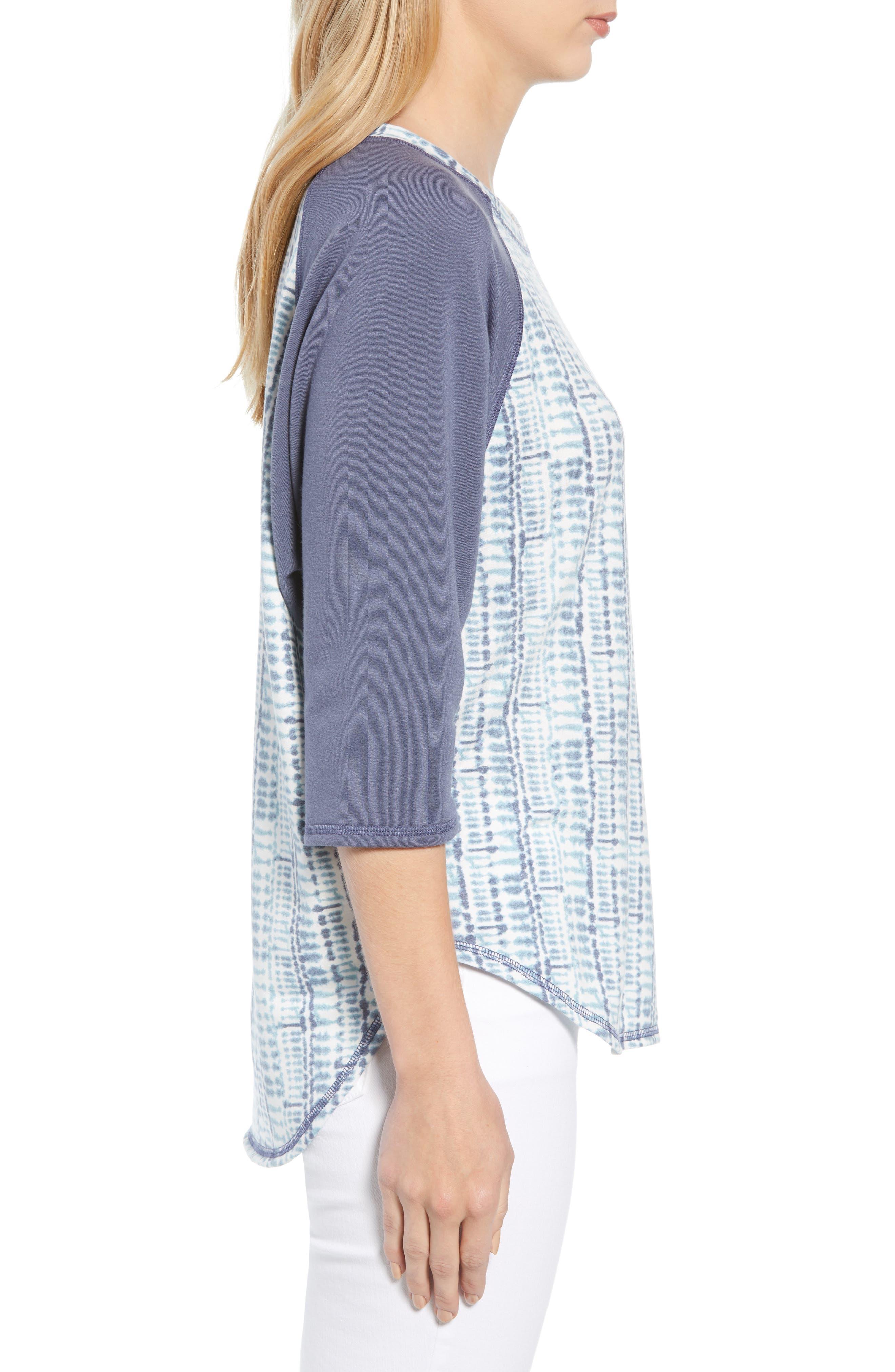 CASLON<SUP>®</SUP>,                             Off Duty Raglan Sleeve Sweatshirt,                             Alternate thumbnail 3, color,                             401