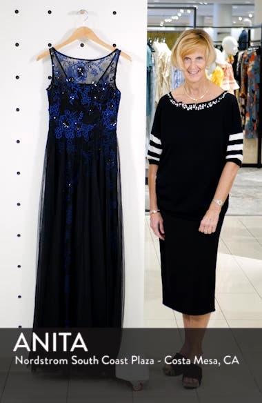 Sequin Threadwork Gown, sales video thumbnail