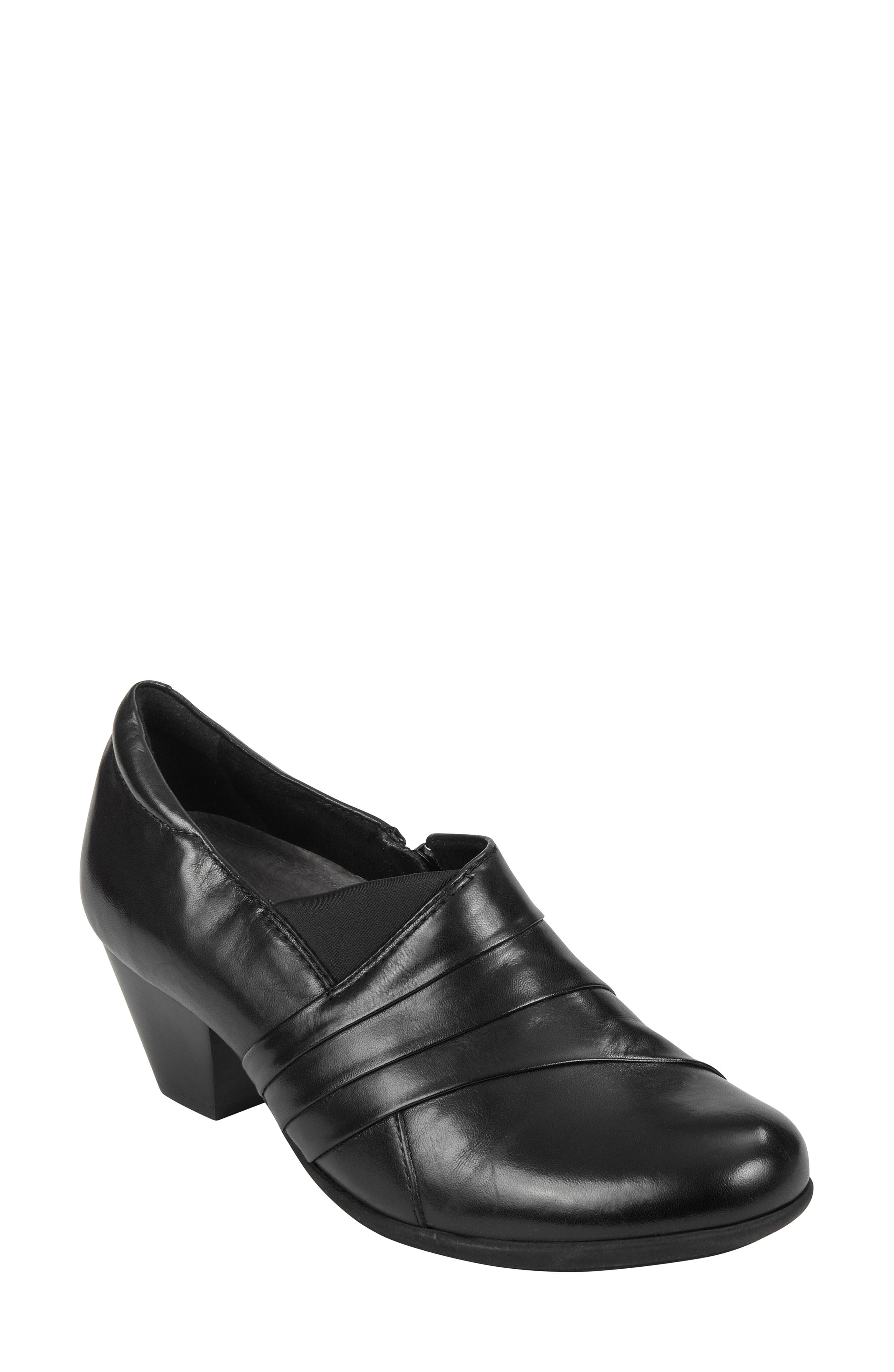 Glory Pump,                         Main,                         color, BLACK LEATHER