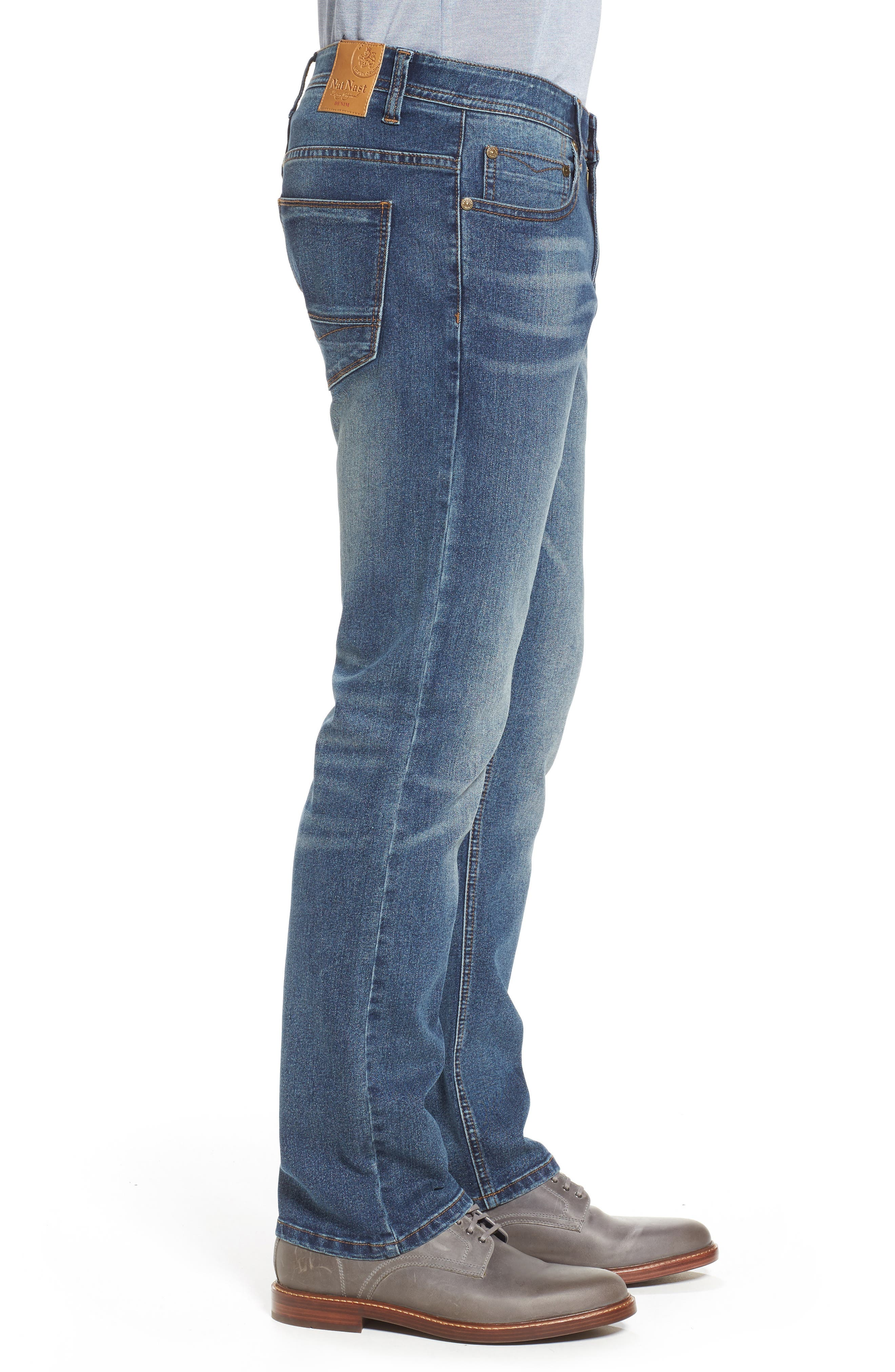 Maverick Stretch Slim Fit Jeans,                             Alternate thumbnail 3, color,                             MAVERICK WASH