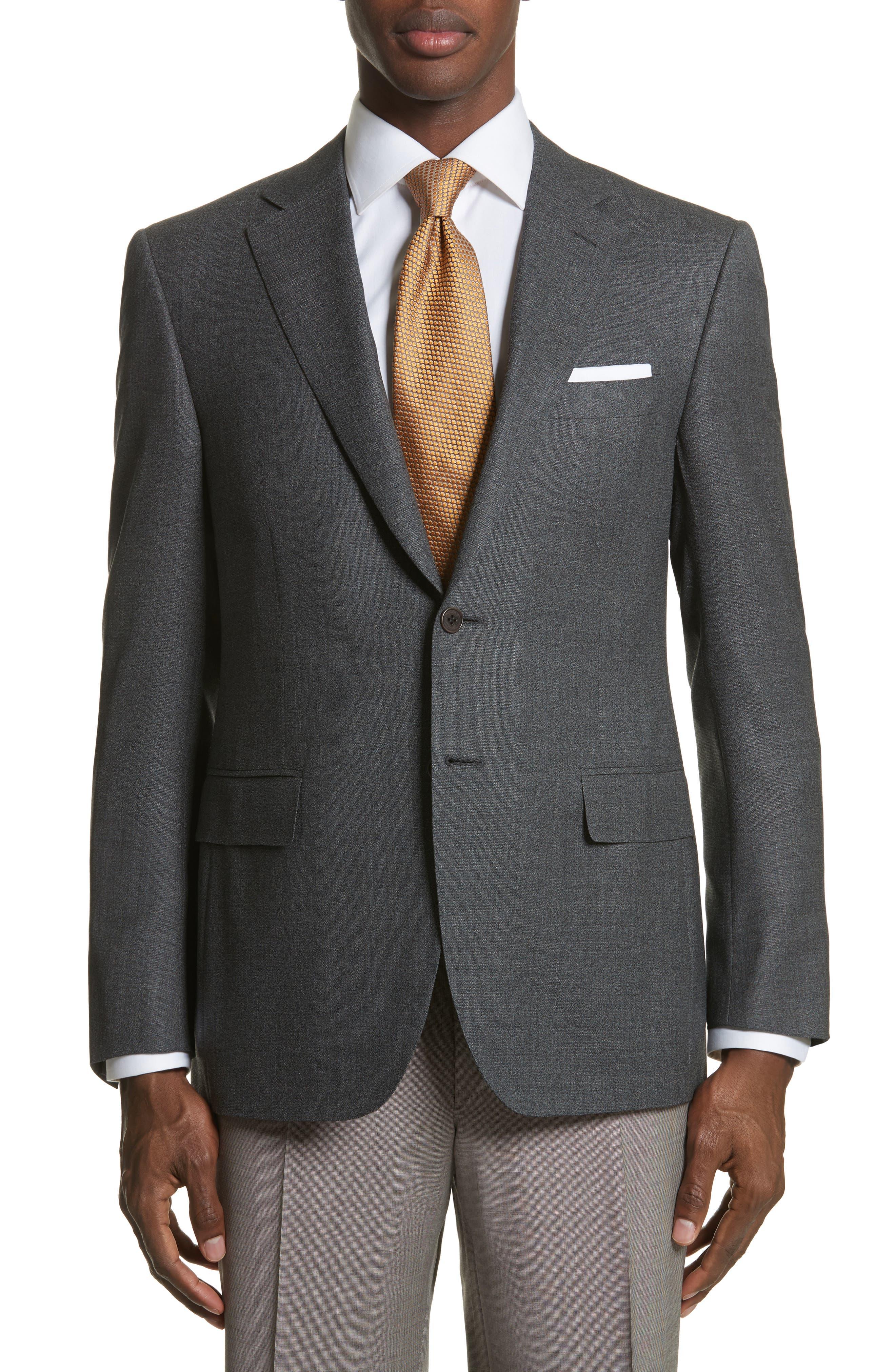 Classic Fit Wool Blazer,                             Main thumbnail 1, color,                             400